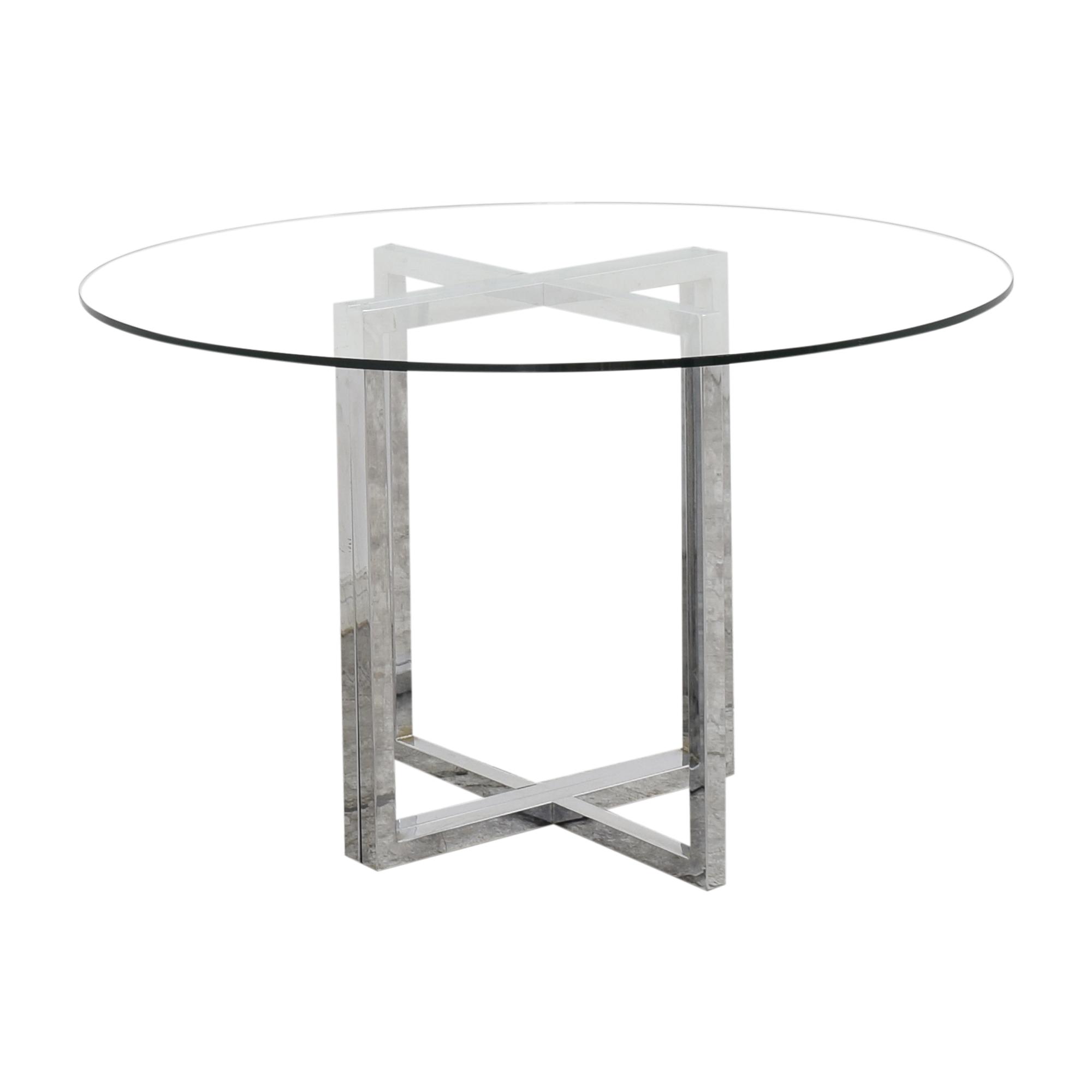 CB2 CB2 Silverado Table Tables