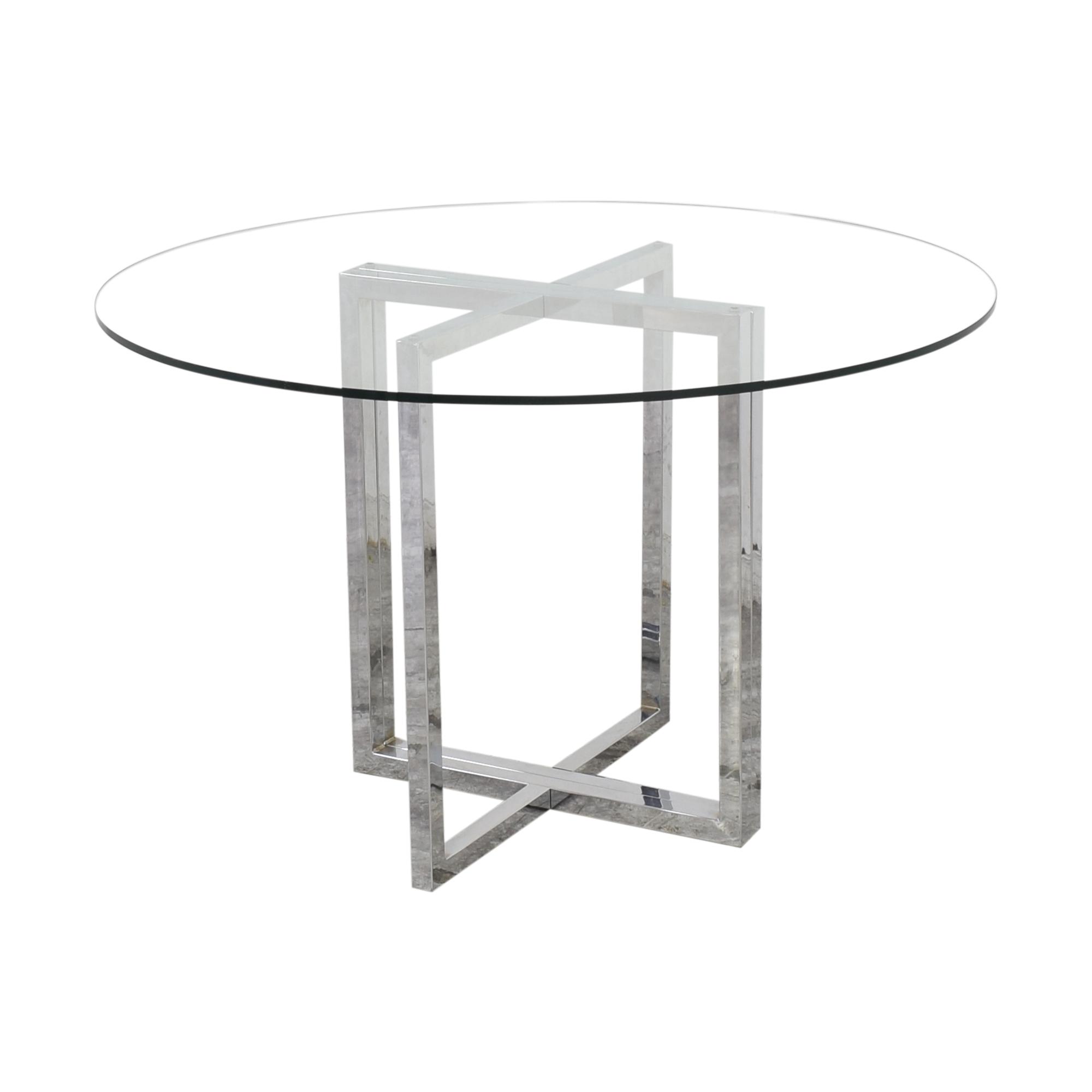 CB2 CB2 Silverado Table used