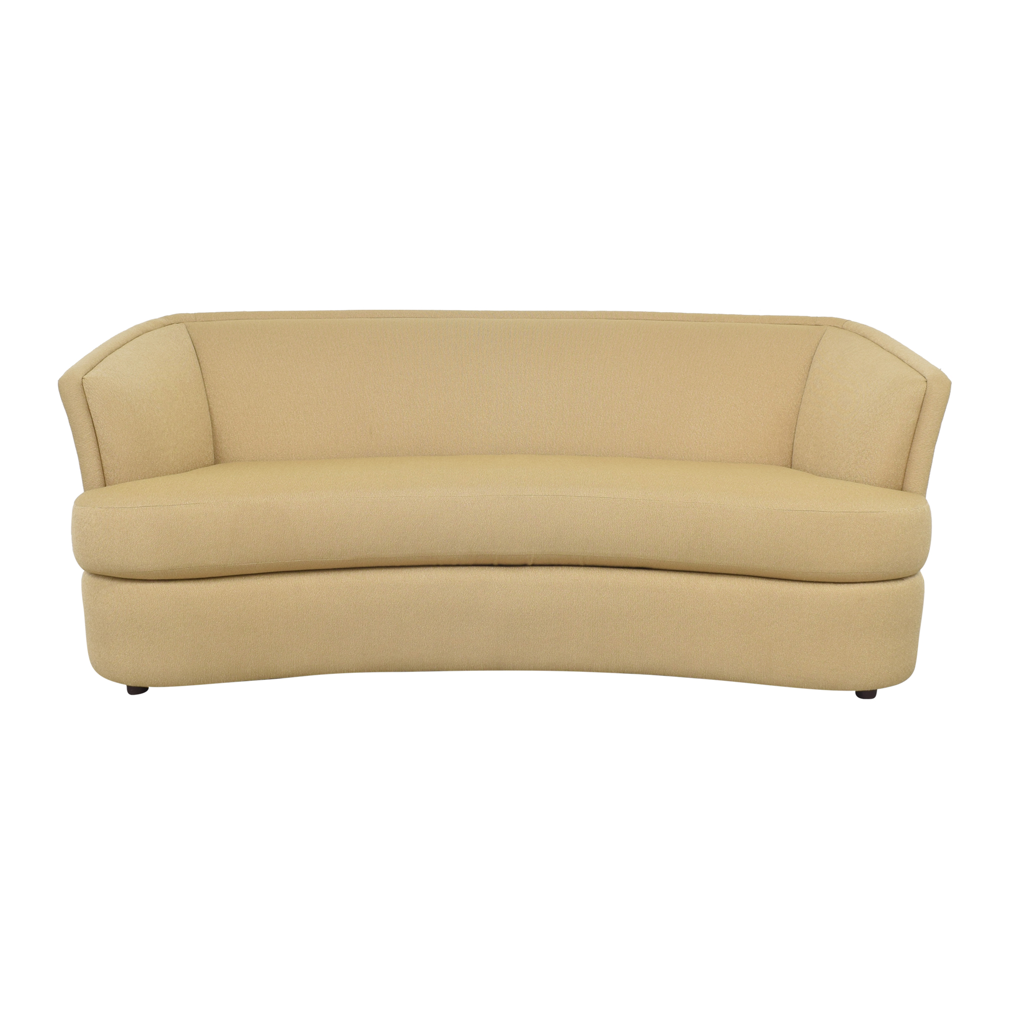 shop Safavieh Curved Sofa Safavieh Classic Sofas