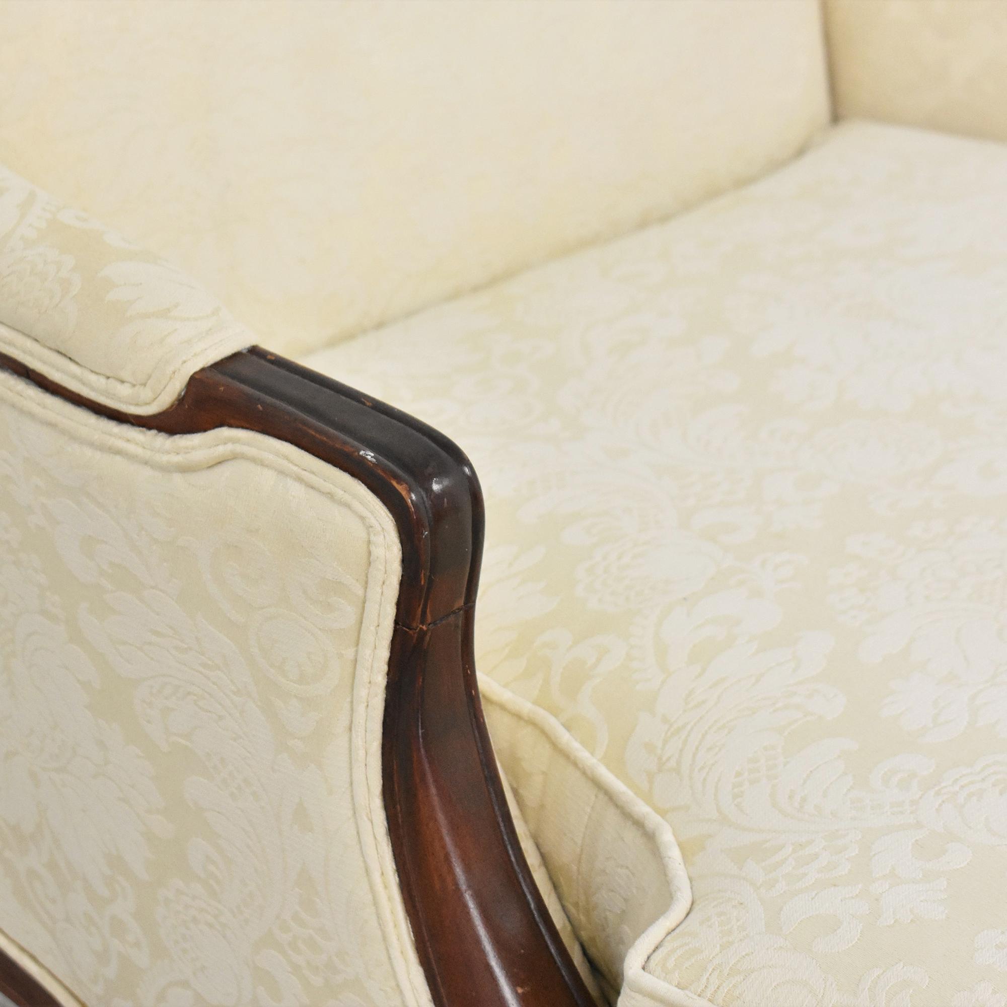 Huffman Koos Arm Chair with Ottoman Huffman Koos