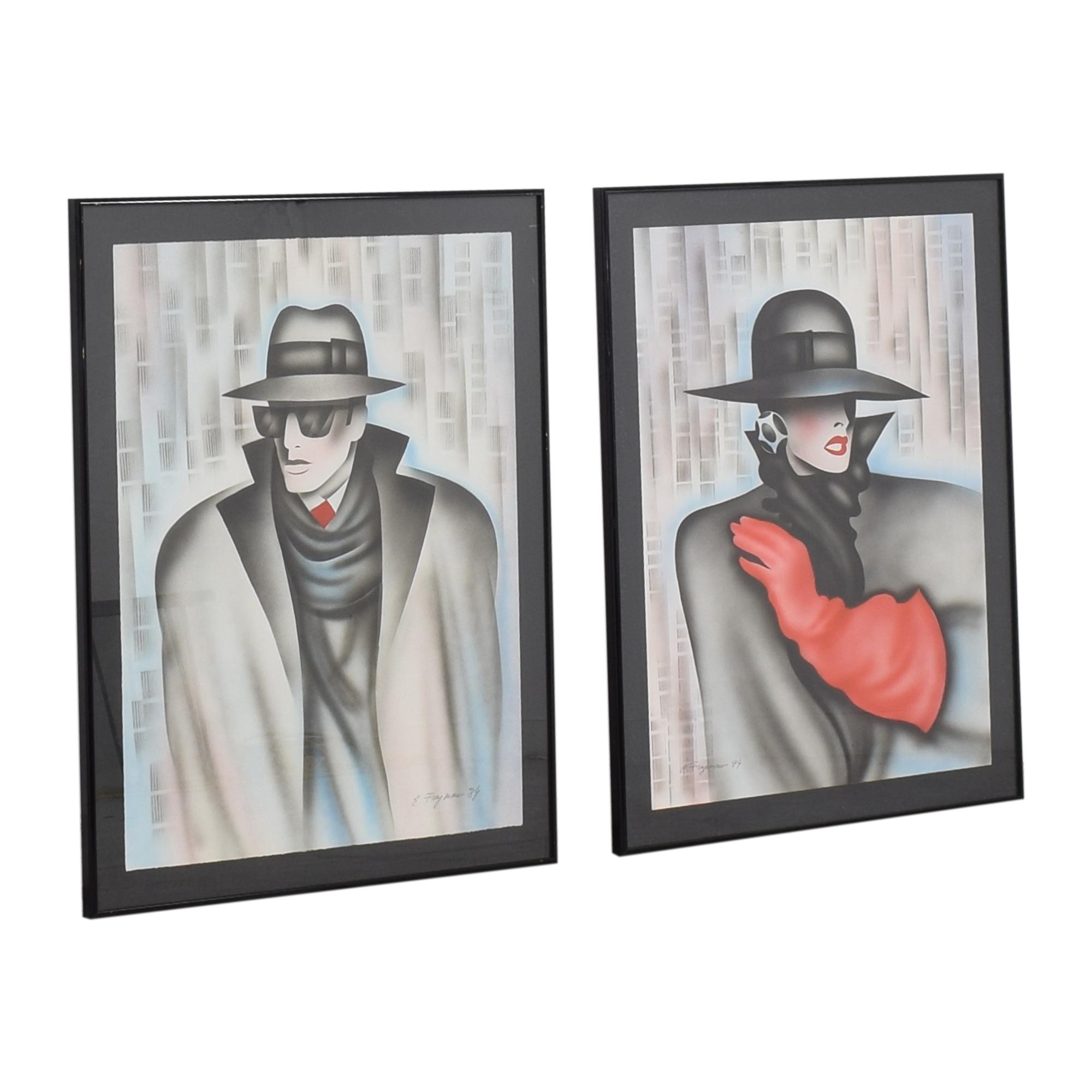 Framed Erik Freyman Wall Art pa