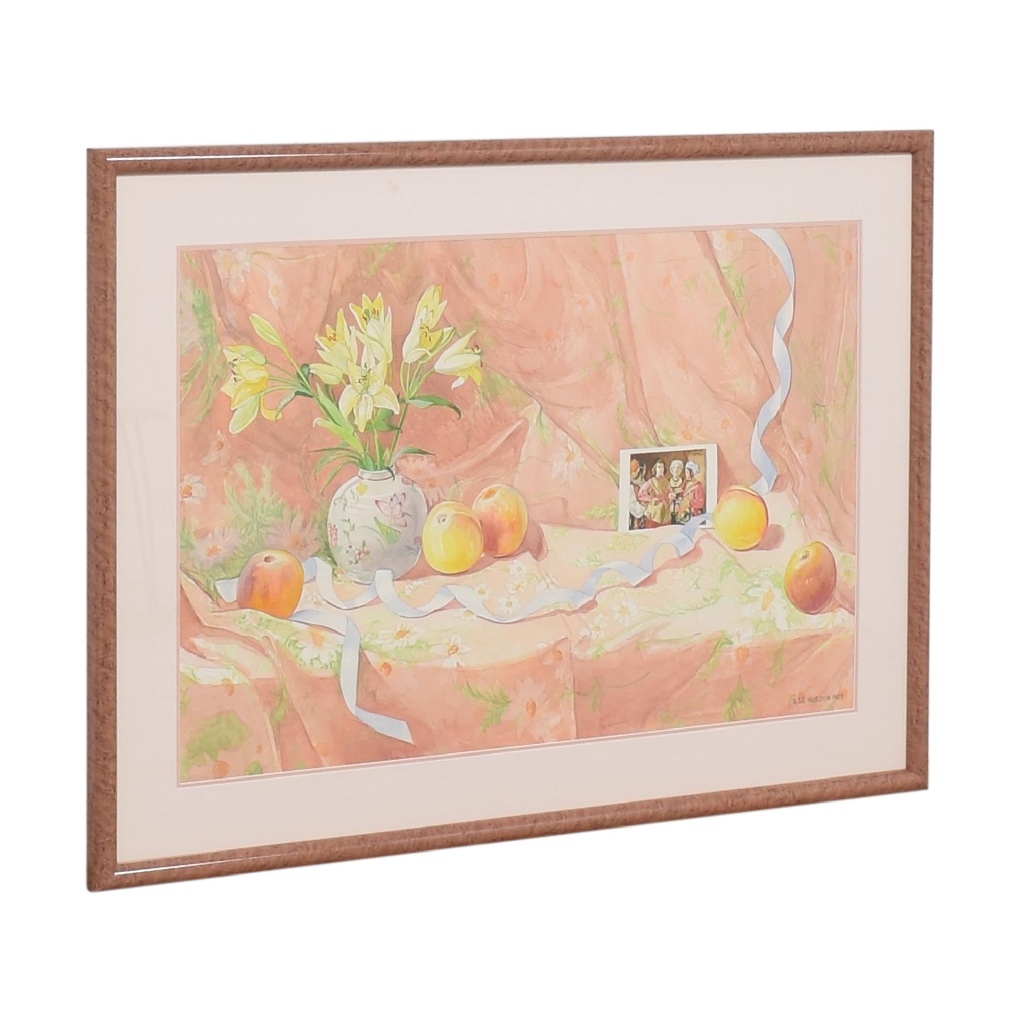 Framed Ilse Gordon Still Life Wall Art coupon