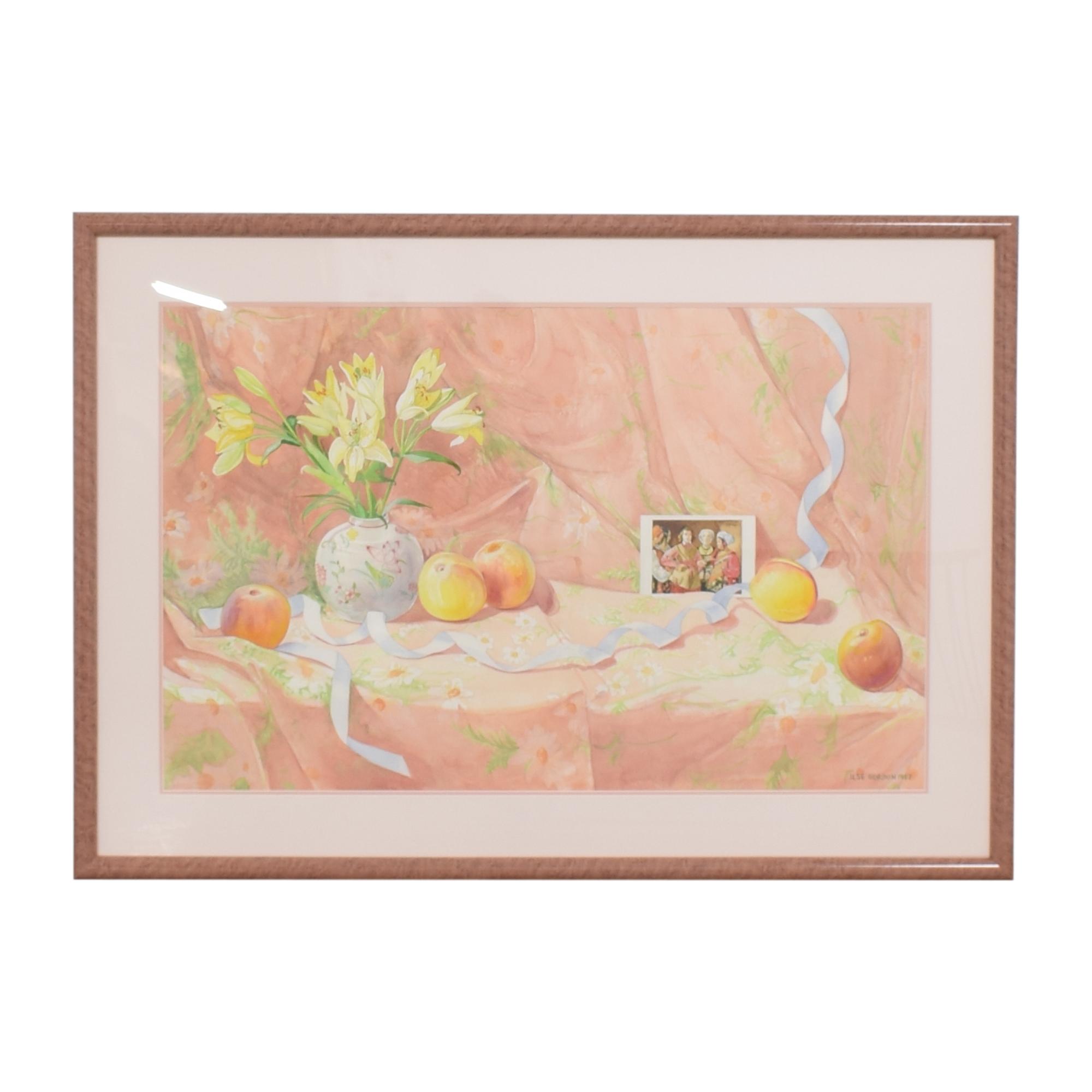 Framed Ilse Gordon Still Life Wall Art