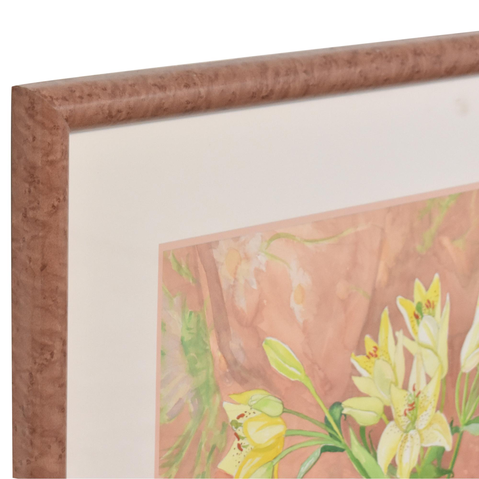 Framed Ilse Gordon Still Life Wall Art pa