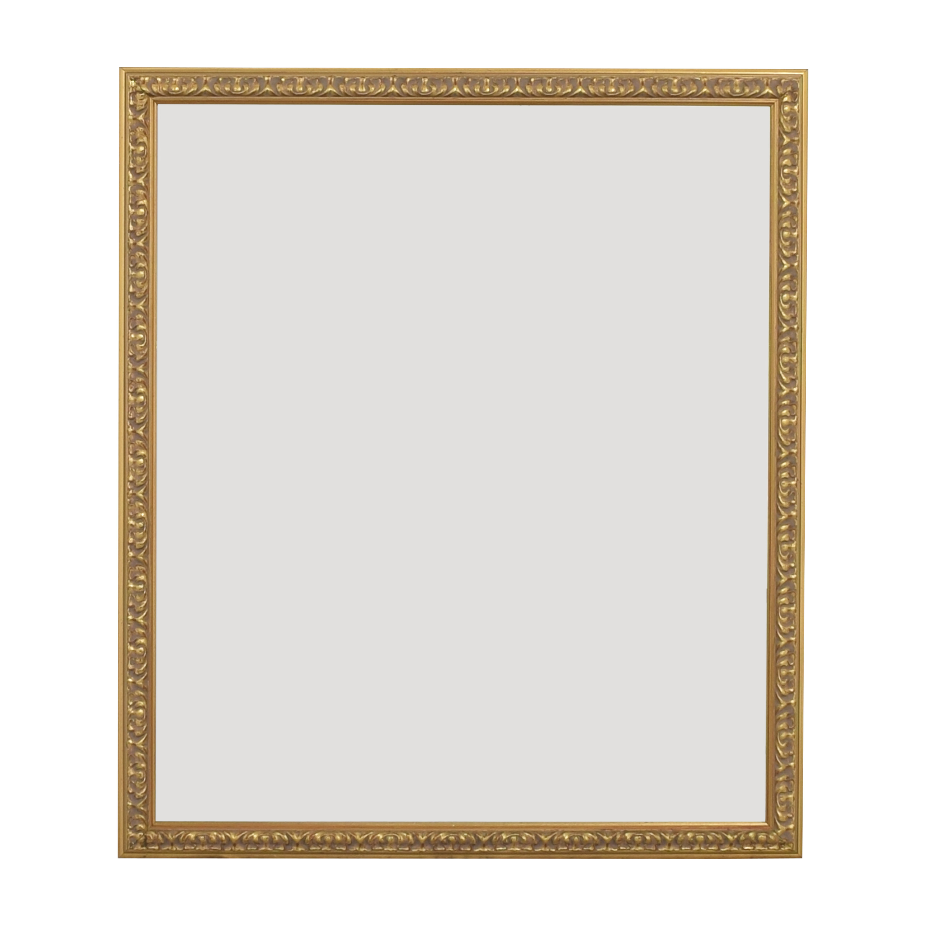 Wall Mirror with Decorative Frame dimensions