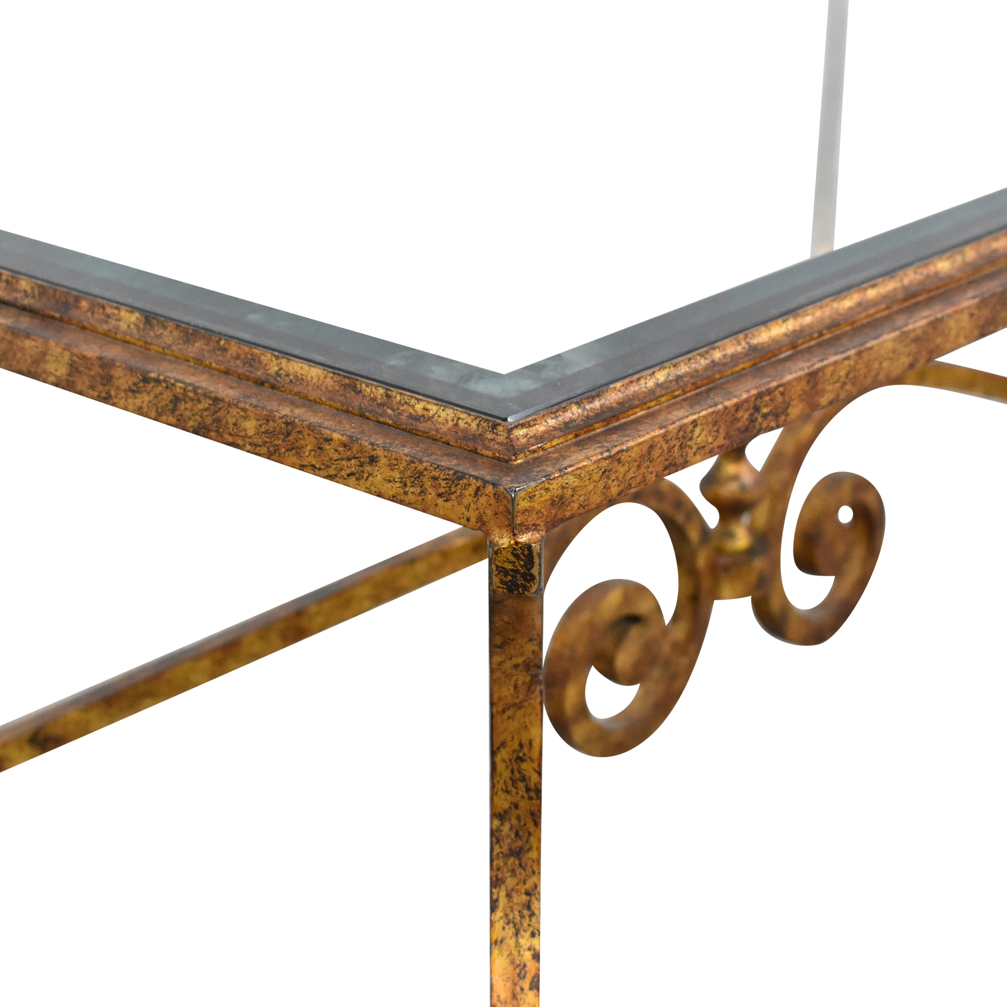 buy Ornate Rectangular Coffee Table  Tables