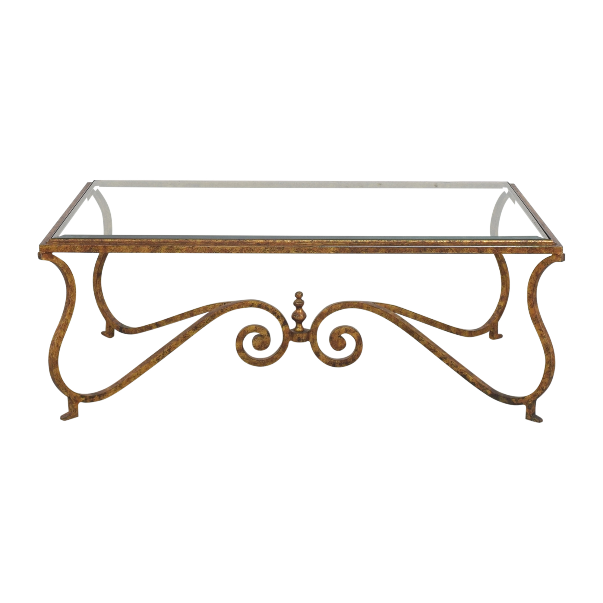 shop Ornate Rectangular Coffee Table