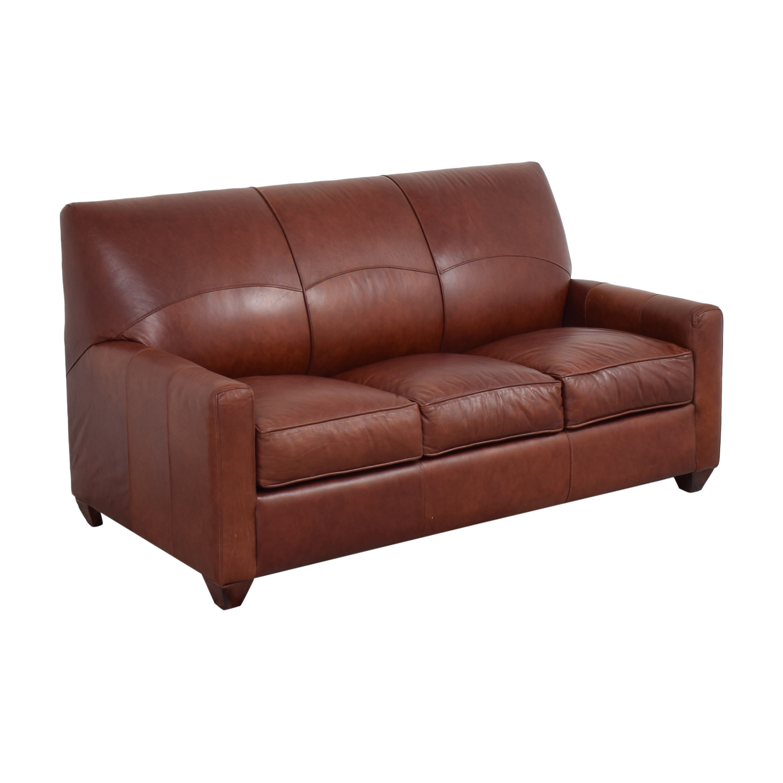 Jennifer Furniture Jennifer Furniture Three Cushion Sleeper Sofa discount