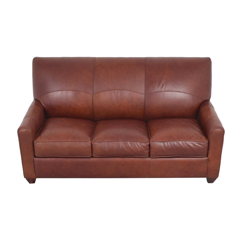 Jennifer Furniture Jennifer Furniture Three Cushion Sleeper Sofa brown