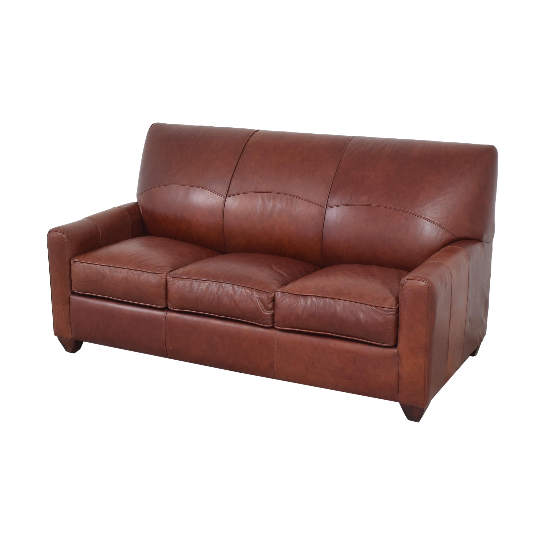 Jennifer Furniture Three Cushion Sleeper Sofa / Sofa Beds