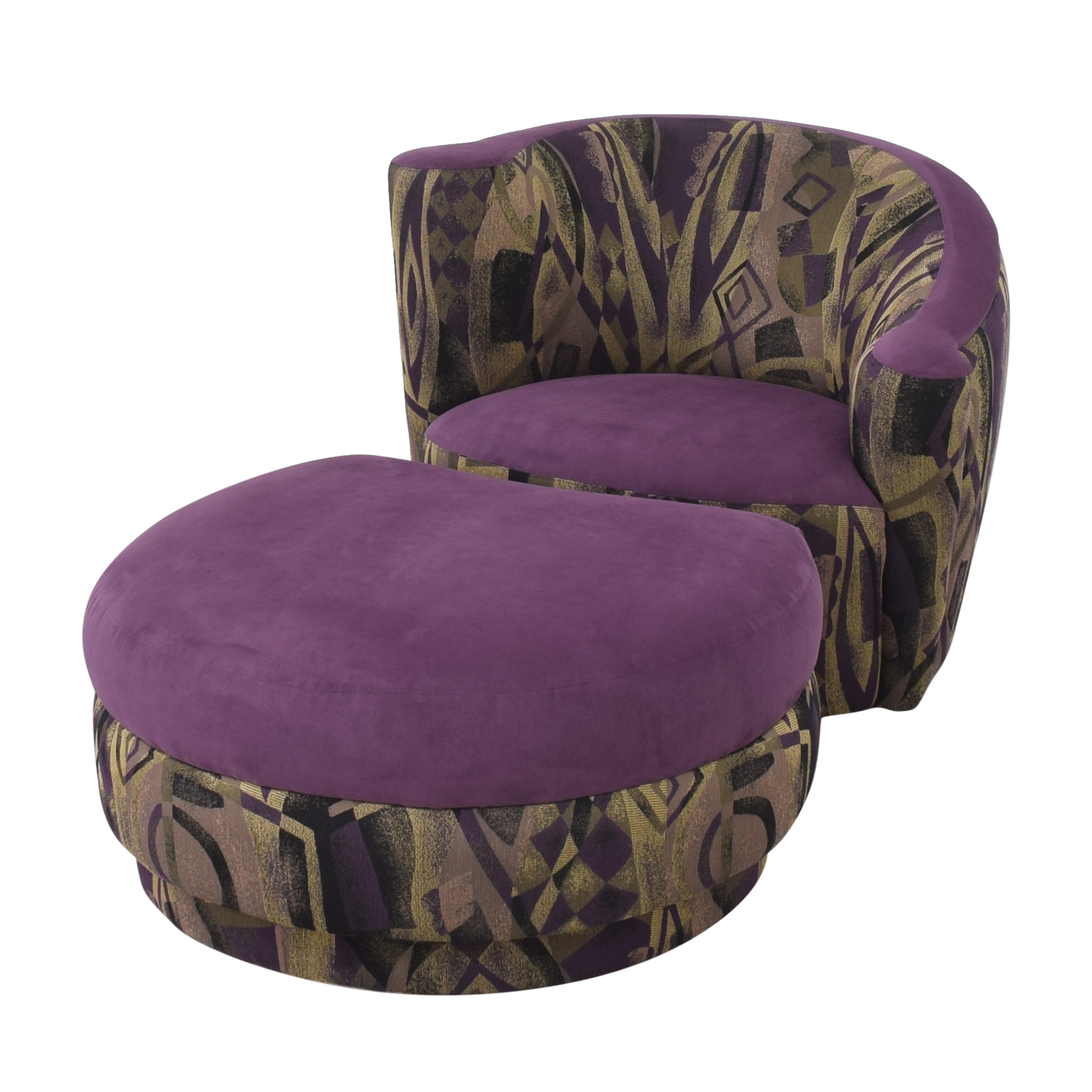 Weiman Weiman Nautilus Lounge Chair and Ottoman ct