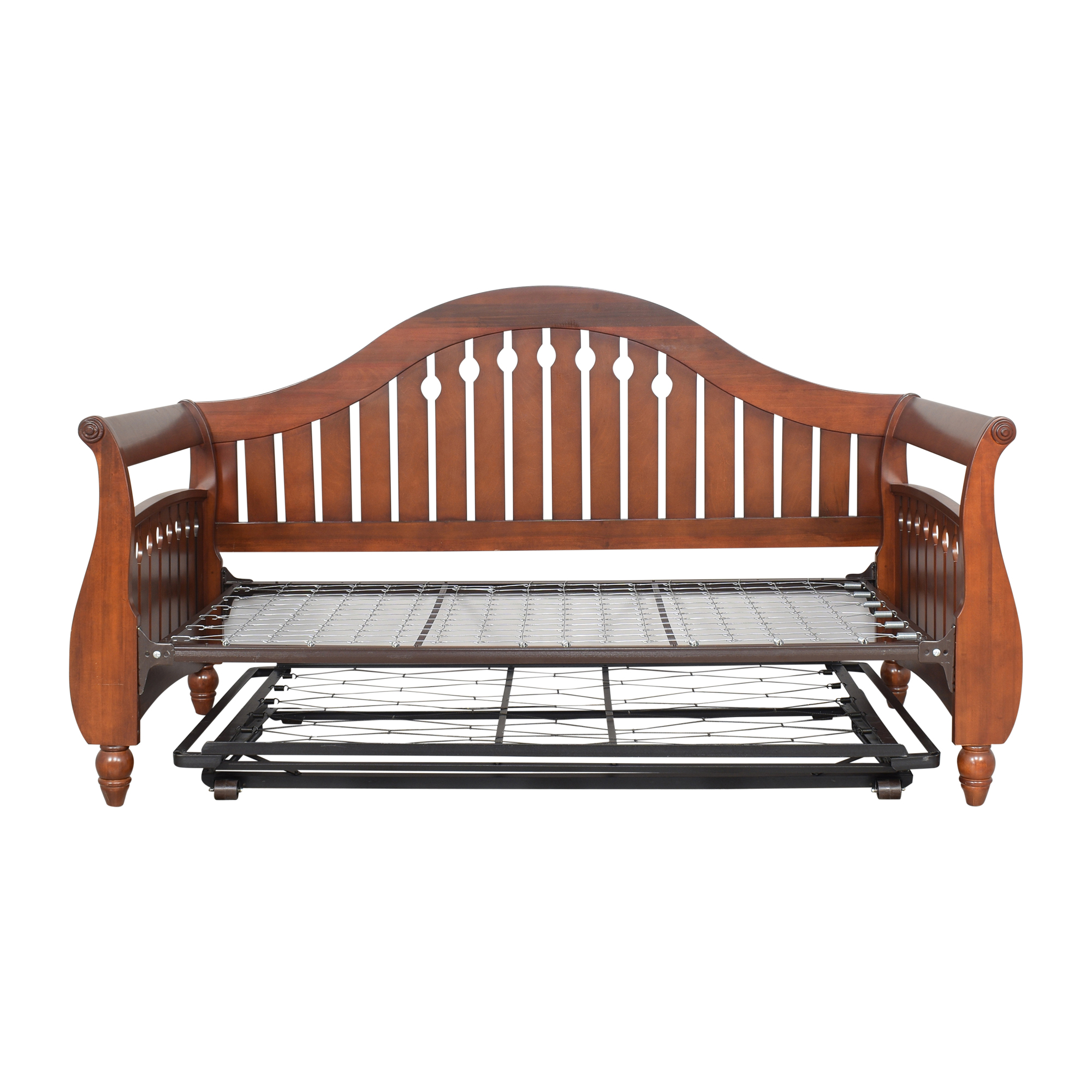 Twin Daybed with Trundle used