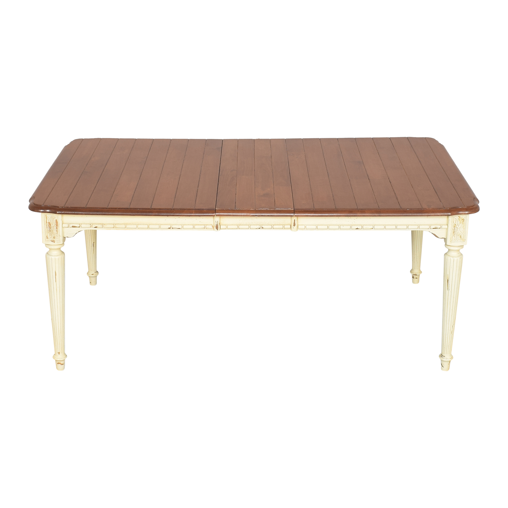 Rustic Extendable Dining Table price