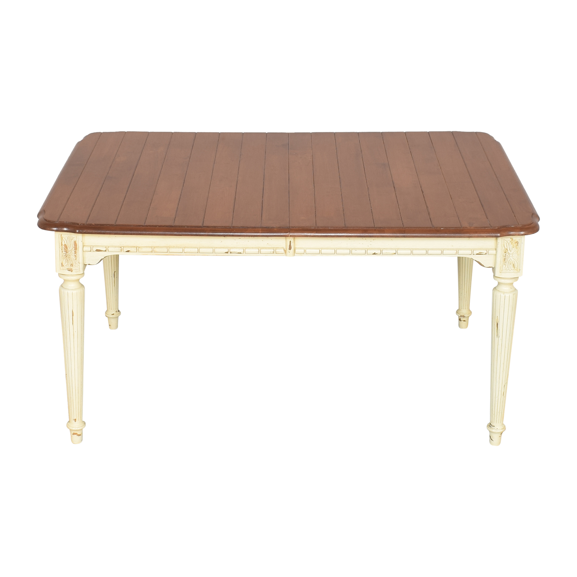 Rustic Extendable Dining Table discount