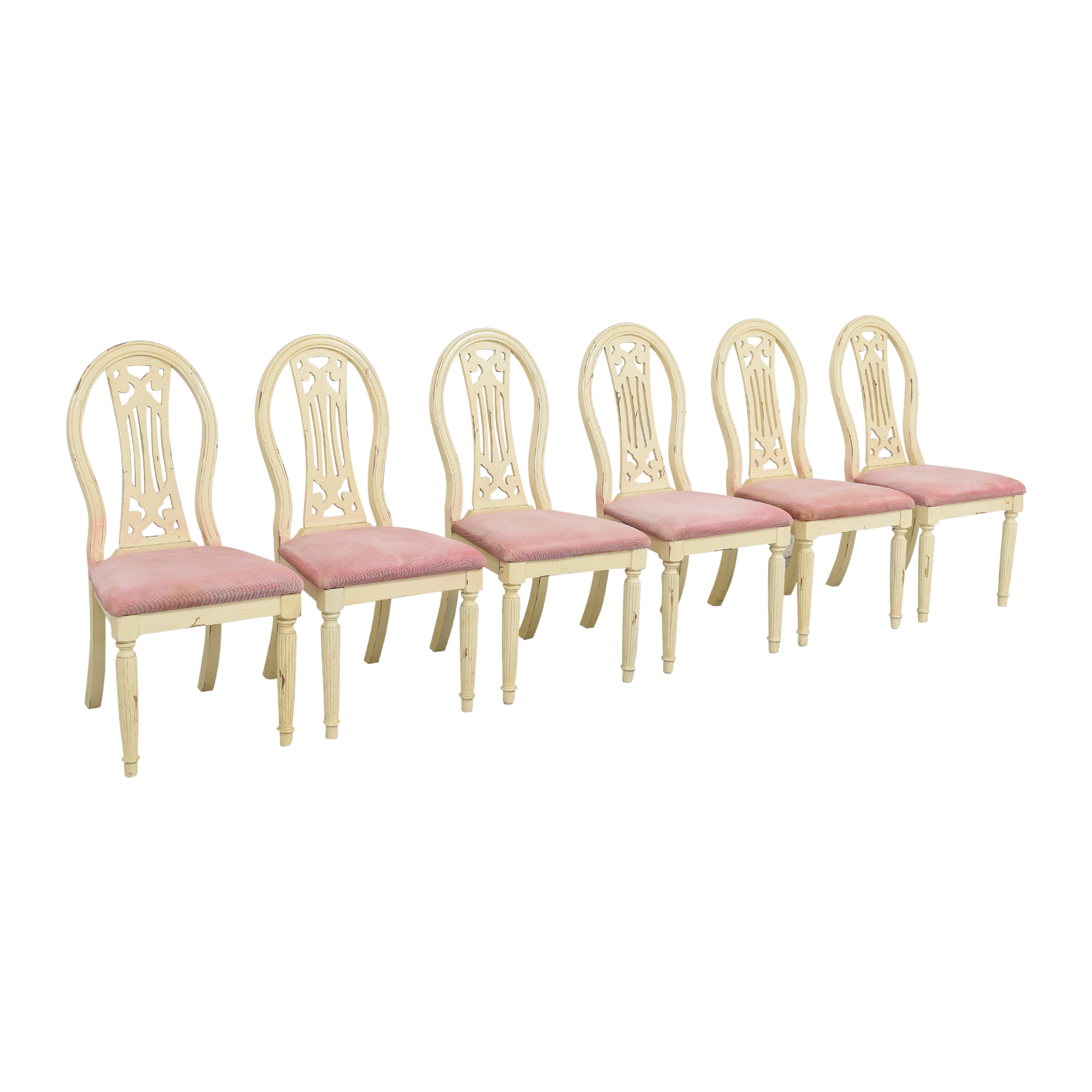 buy Rustic Upholstered Seat Dining Chairs  Chairs