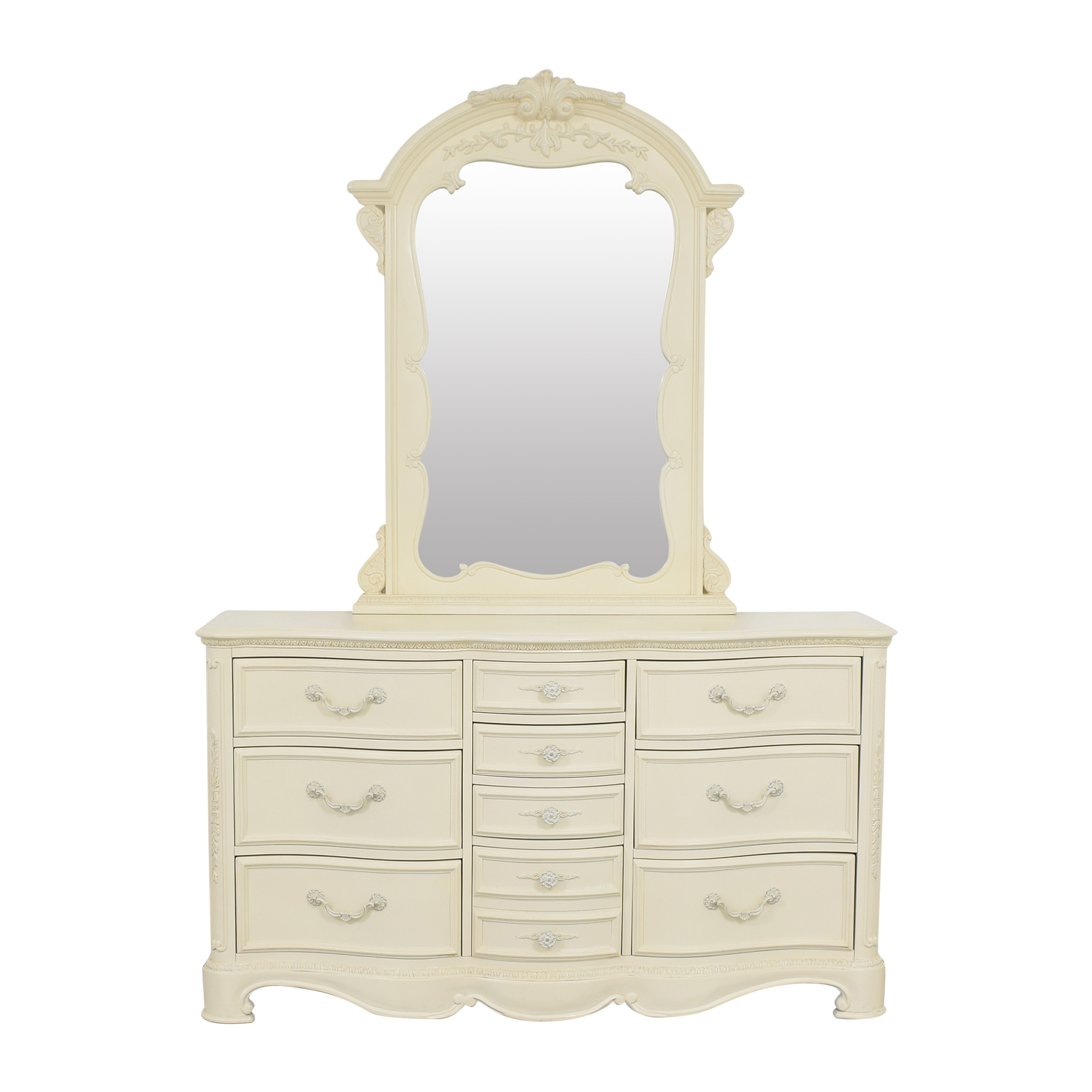 buy Lea Furniture Lea Jessica McClintock Romance Dresser With Mirror online