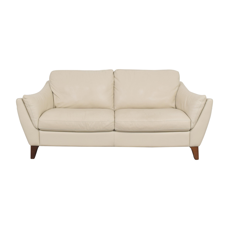 Raymour & Flanigan Greccio Two Cushion Sofa Raymour & Flanigan