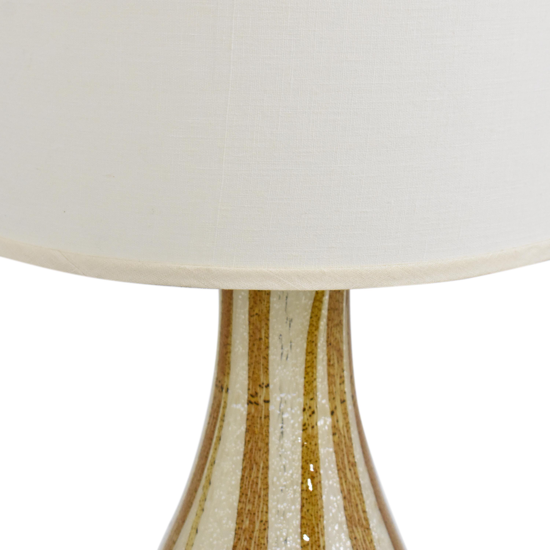 Vase Style Table Lamp on sale