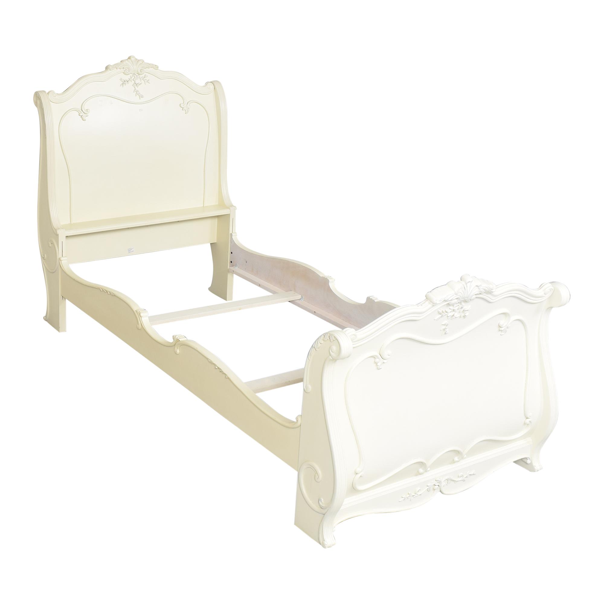 Lea Furniture Lea Jessica McClintock Romance Twin Sleigh Bed pa