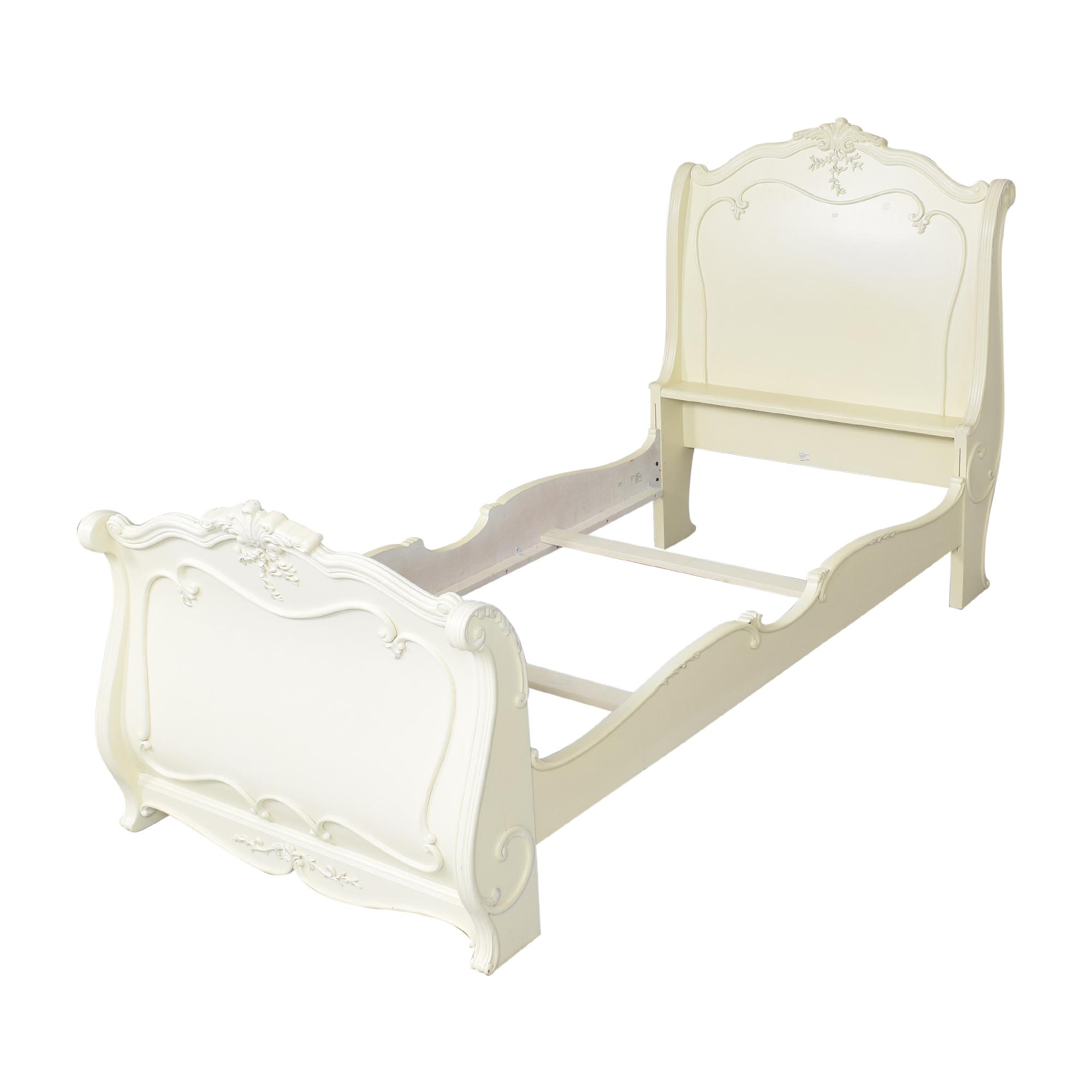 Lea Jessica McClintock Romance Twin Sleigh Bed sale