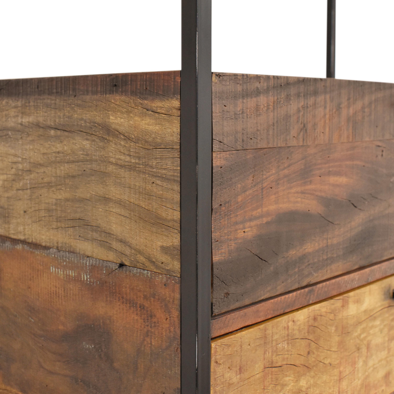 shop Crate & Barrel Clive Bar Cabinet Crate & Barrel