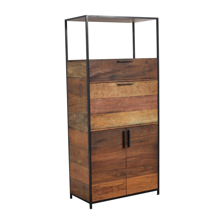 buy Crate & Barrel Clive Bar Cabinet Crate & Barrel Storage