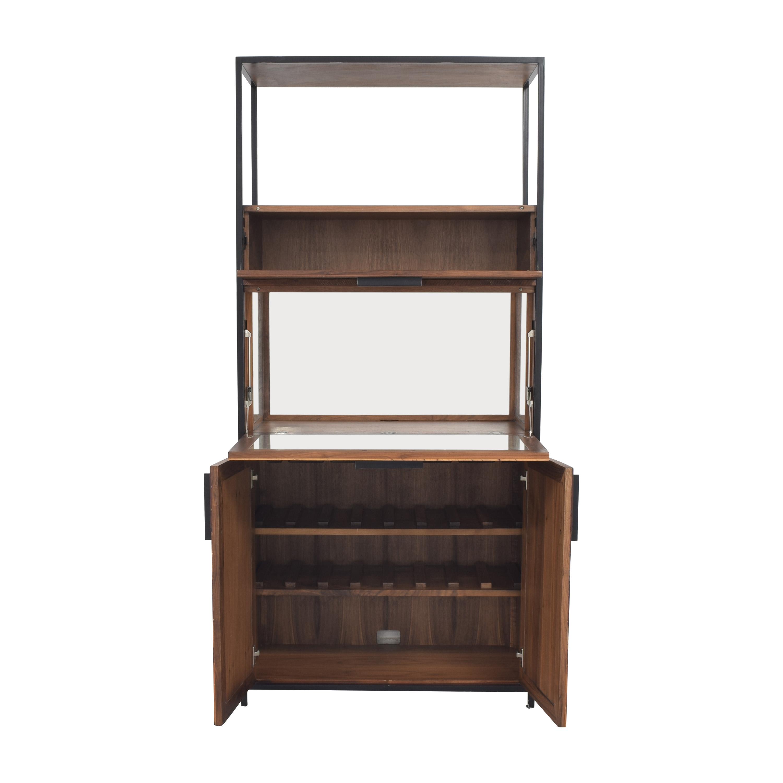 buy Crate & Barrel Clive Bar Cabinet Crate & Barrel