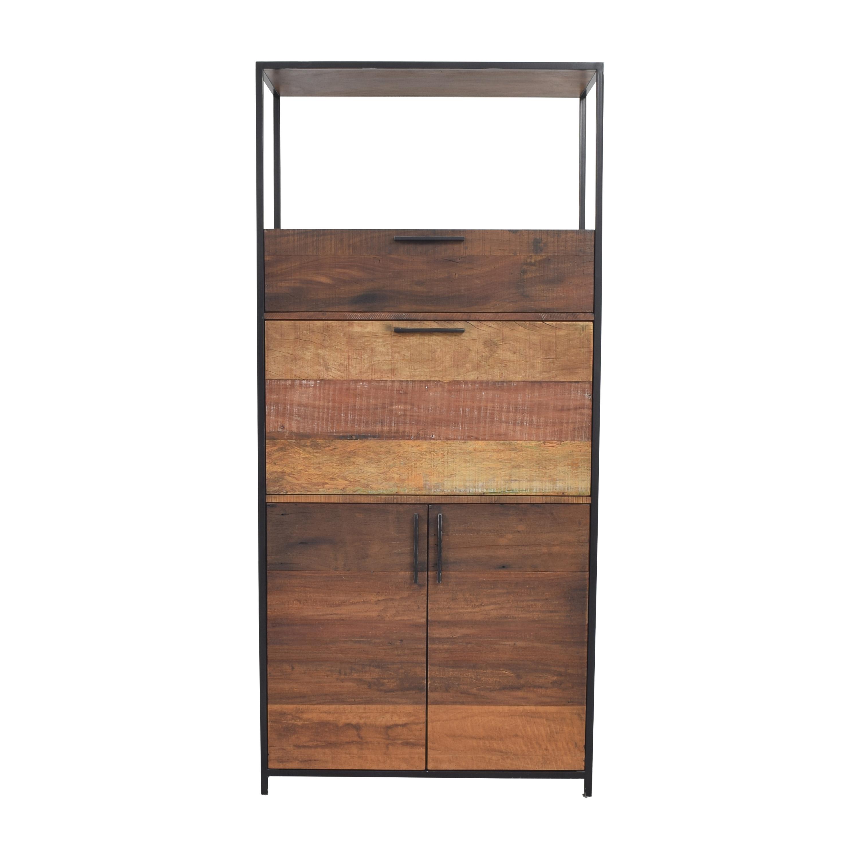 Crate & Barrel Crate & Barrel Clive Bar Cabinet on sale