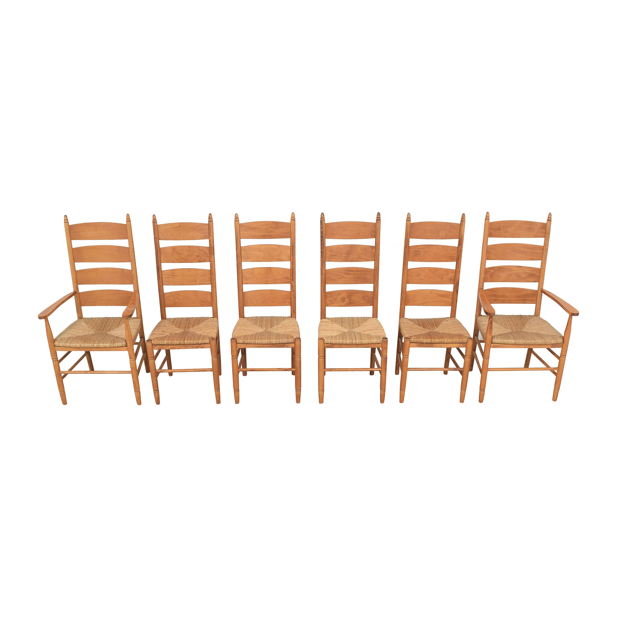 Pottery Barn Ladder Back Dining Chairs / Chairs