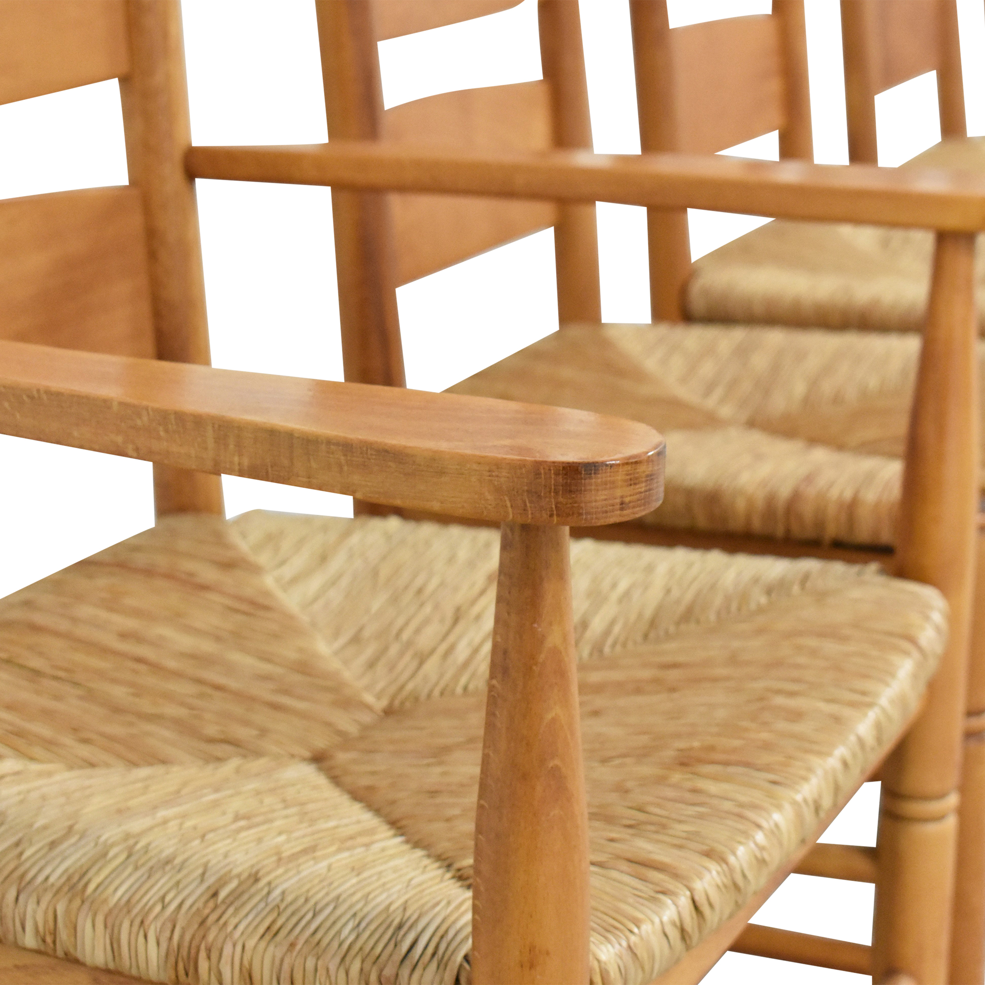 shop Pottery Barn Ladder Back Dining Chairs Pottery Barn Dining Chairs