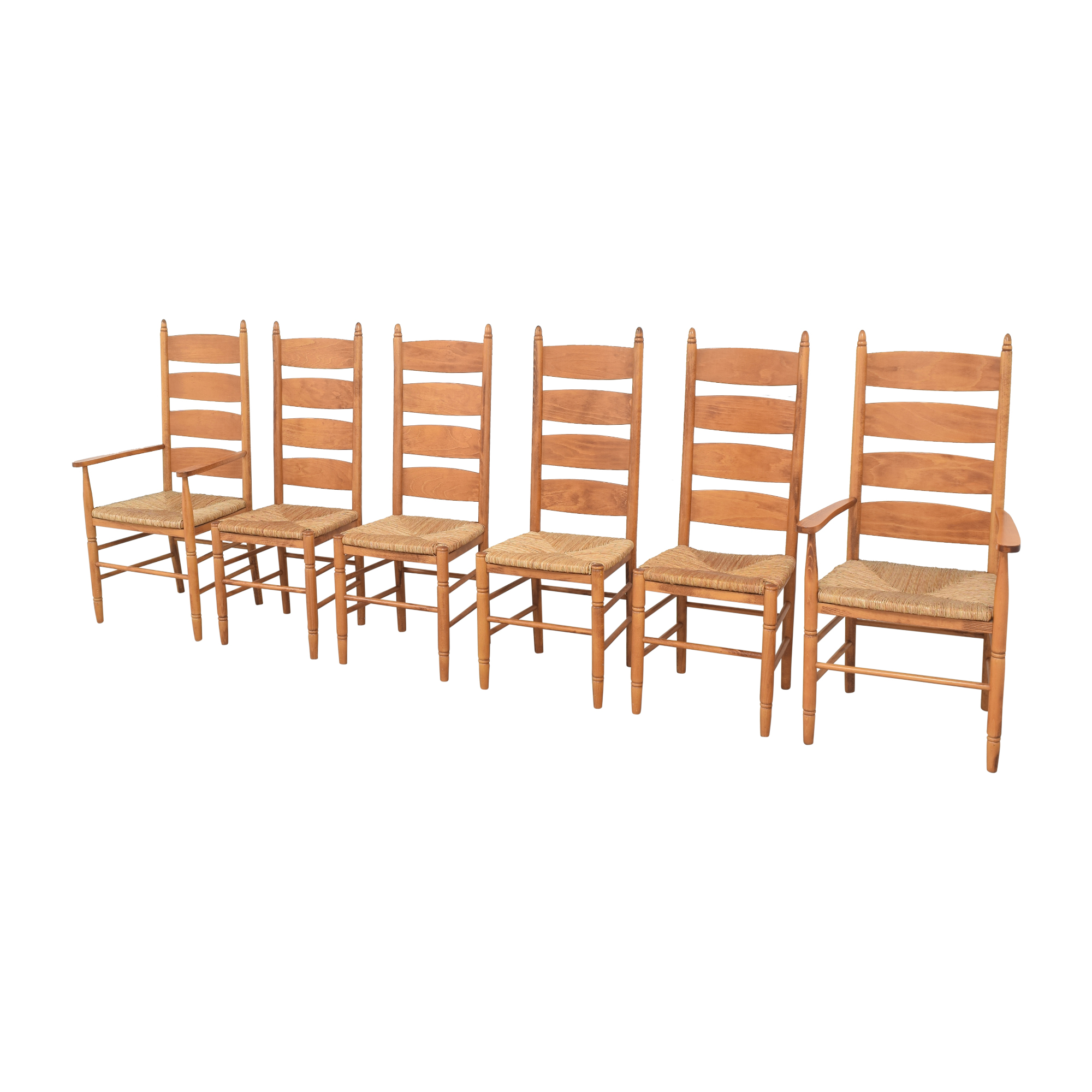 Pottery Barn Pottery Barn Ladder Back Dining Chairs nj