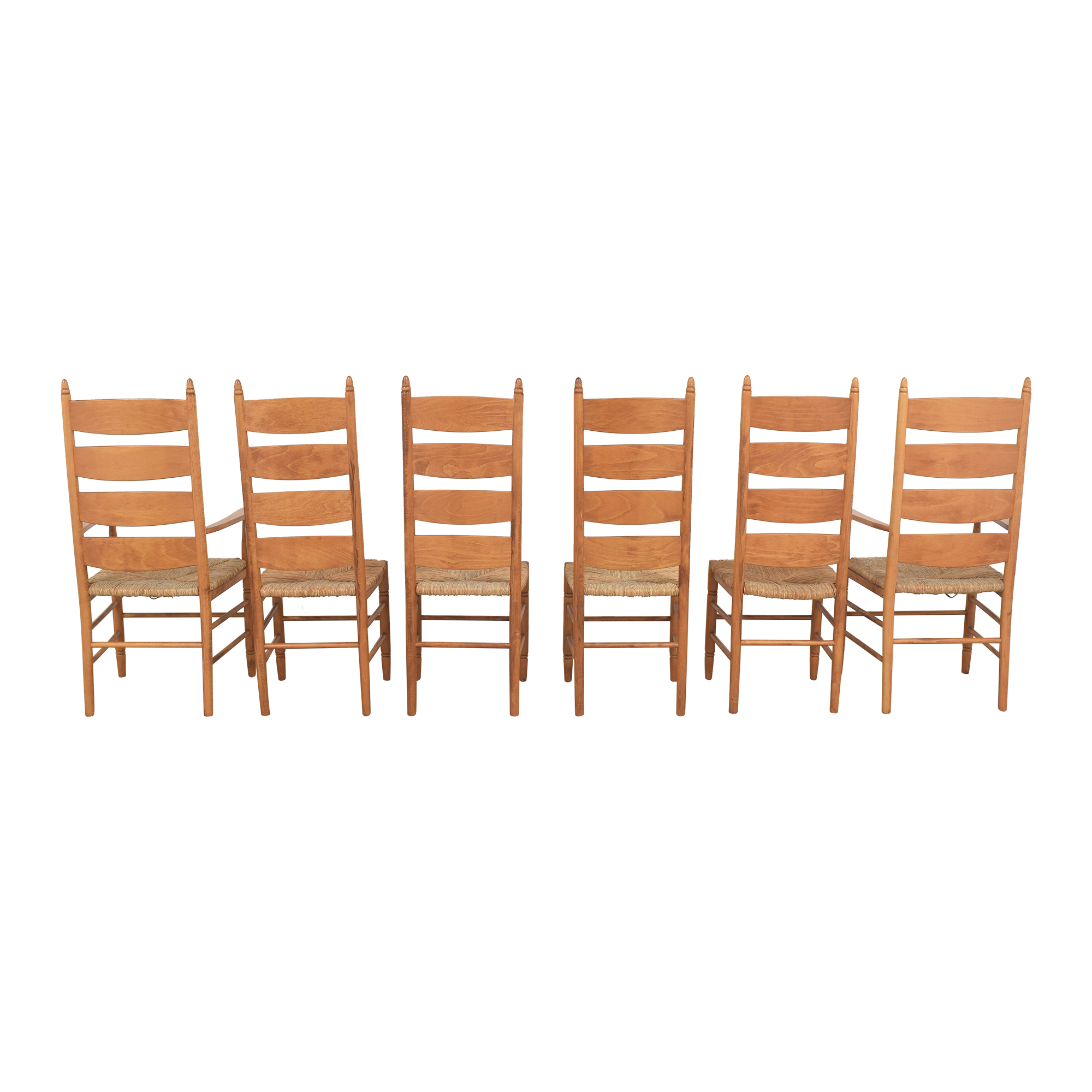 Pottery Barn Pottery Barn Ladder Back Dining Chairs used