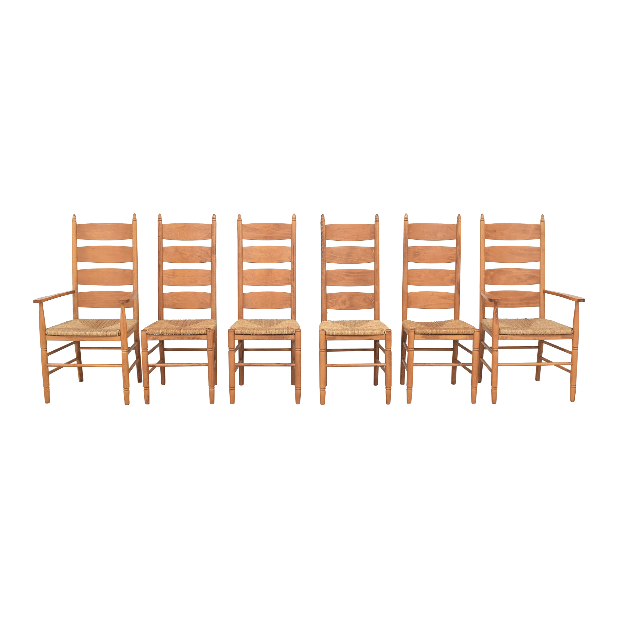 shop Pottery Barn Ladder Back Dining Chairs Pottery Barn Chairs