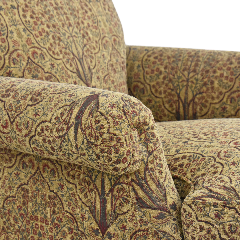 Lewis Mittman Lewis Mittman Roll Arm Accent Chair pa