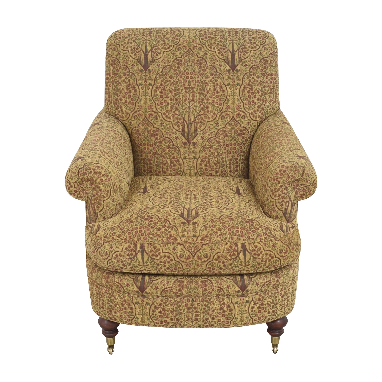 Lewis Mittman Lewis Mittman Roll Arm Accent Chair price