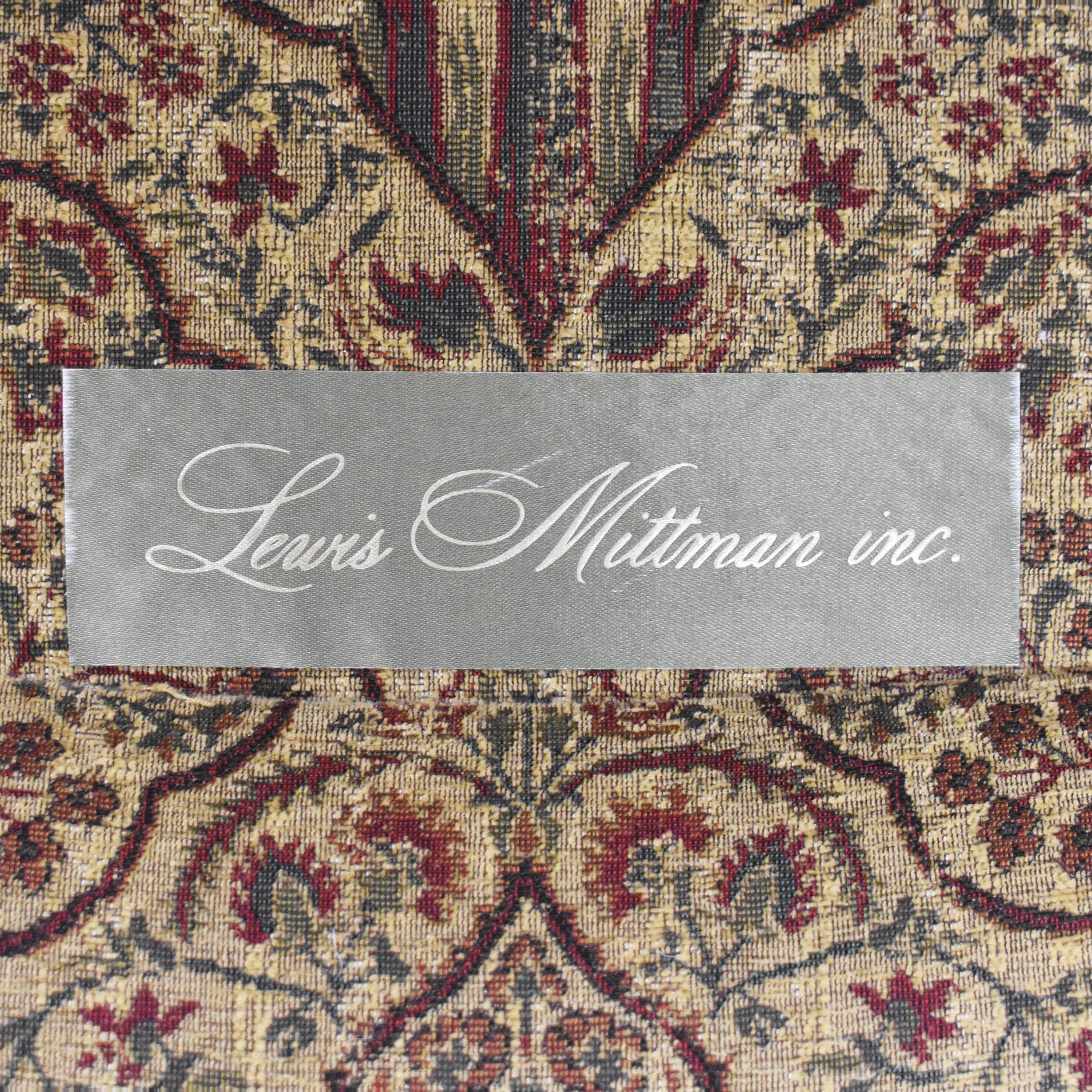 Lewis Mittman Lewis Mittman Roll Arm Accent Chair second hand