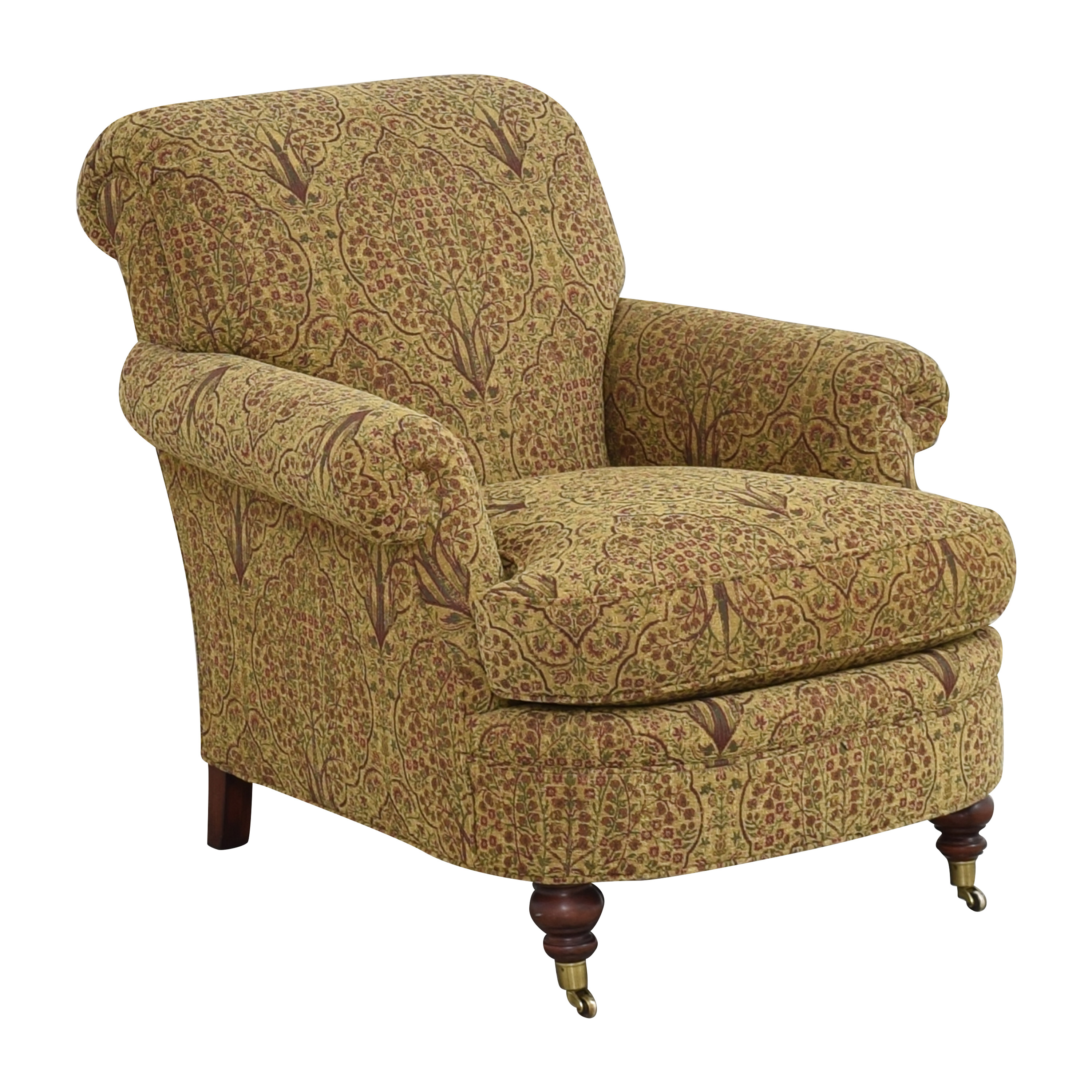 Lewis Mittman Lewis Mittman Roll Arm Accent Chair Chairs