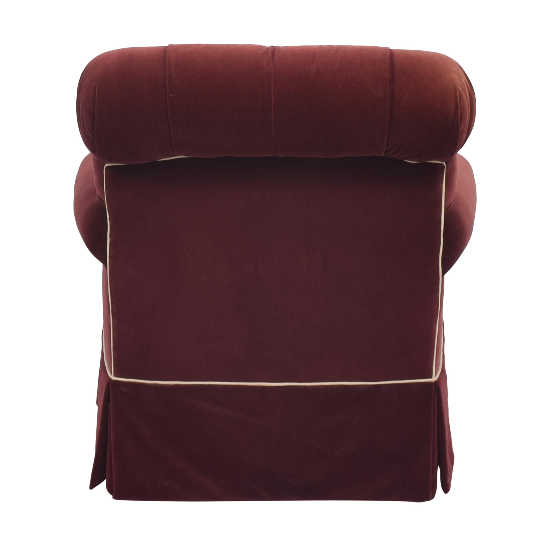 Lewis Mittman Lewis Mittman Skirted Arm Chair