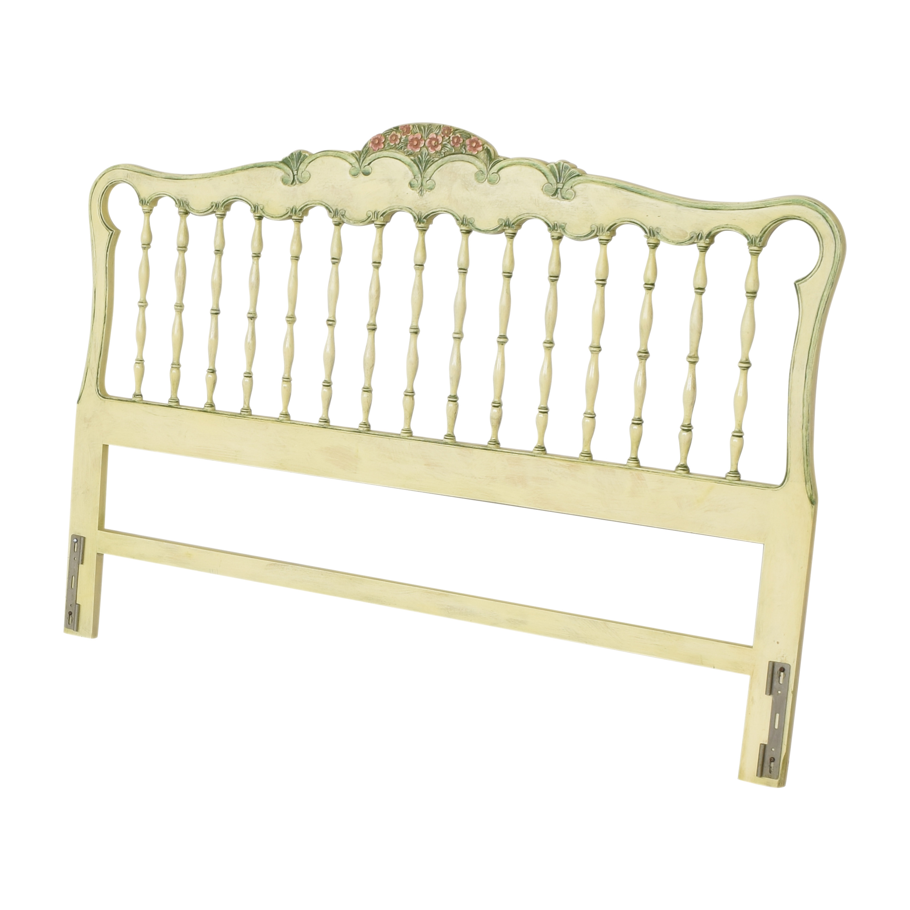 buy Floral Accented King Headboard