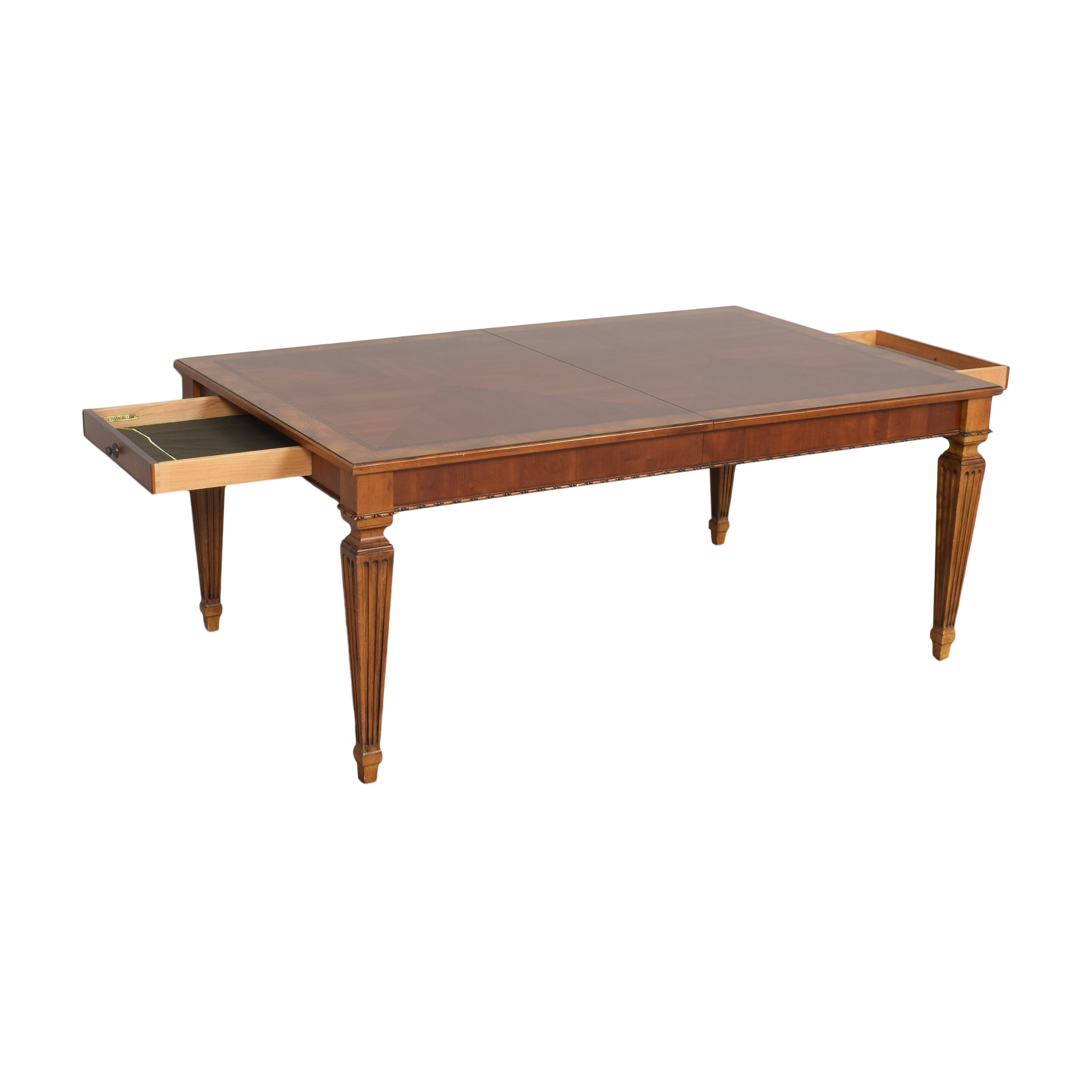 Ethan Allen Goodwin Extendable Dining Table / Tables