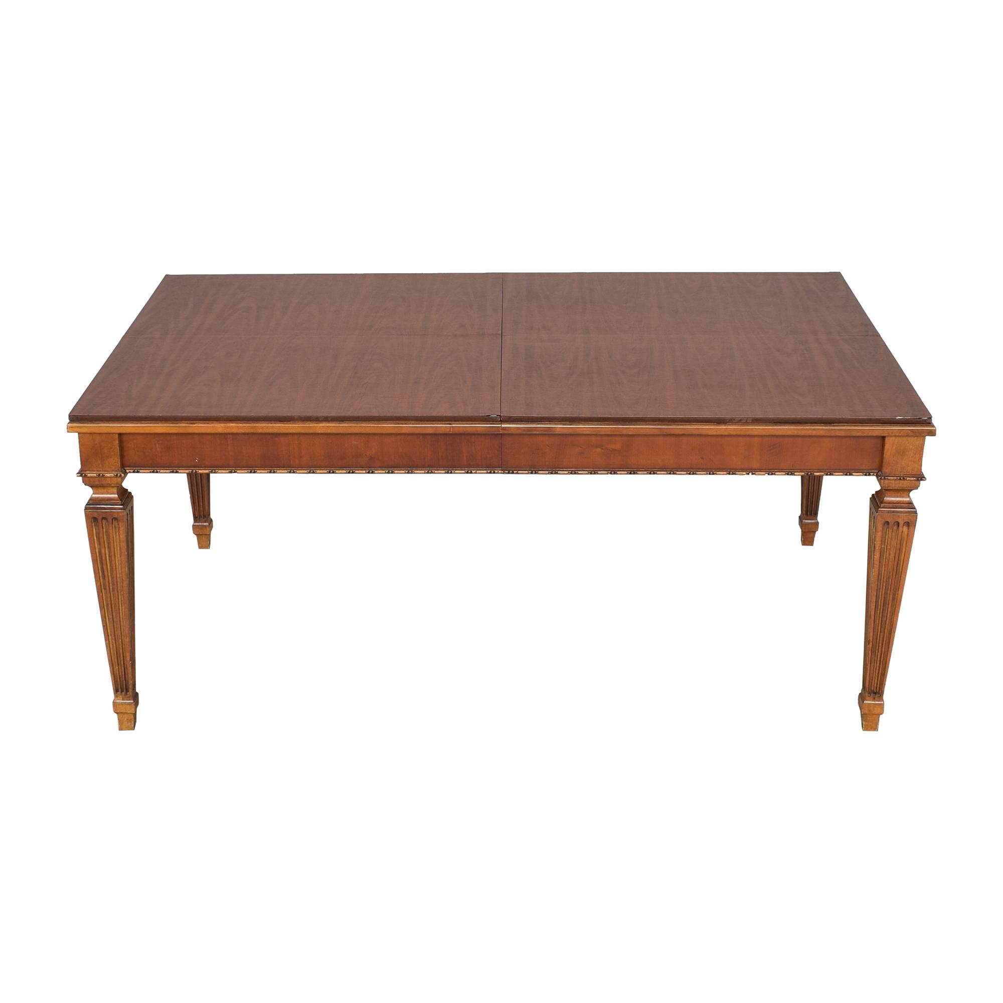 buy Ethan Allen Ethan Allen Goodwin Extendable Dining Table online