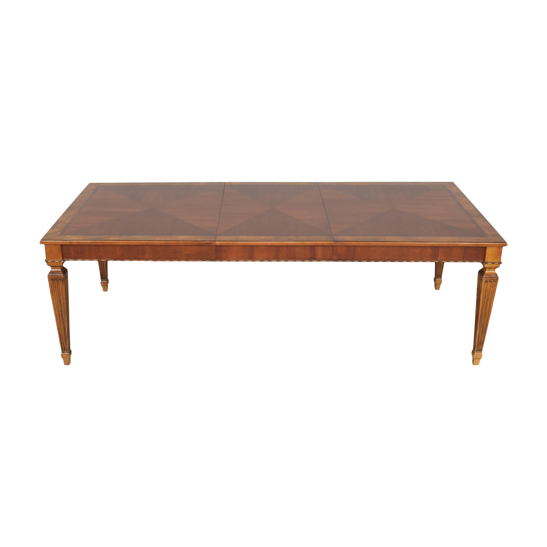buy Ethan Allen Goodwin Extendable Dining Table Ethan Allen Tables