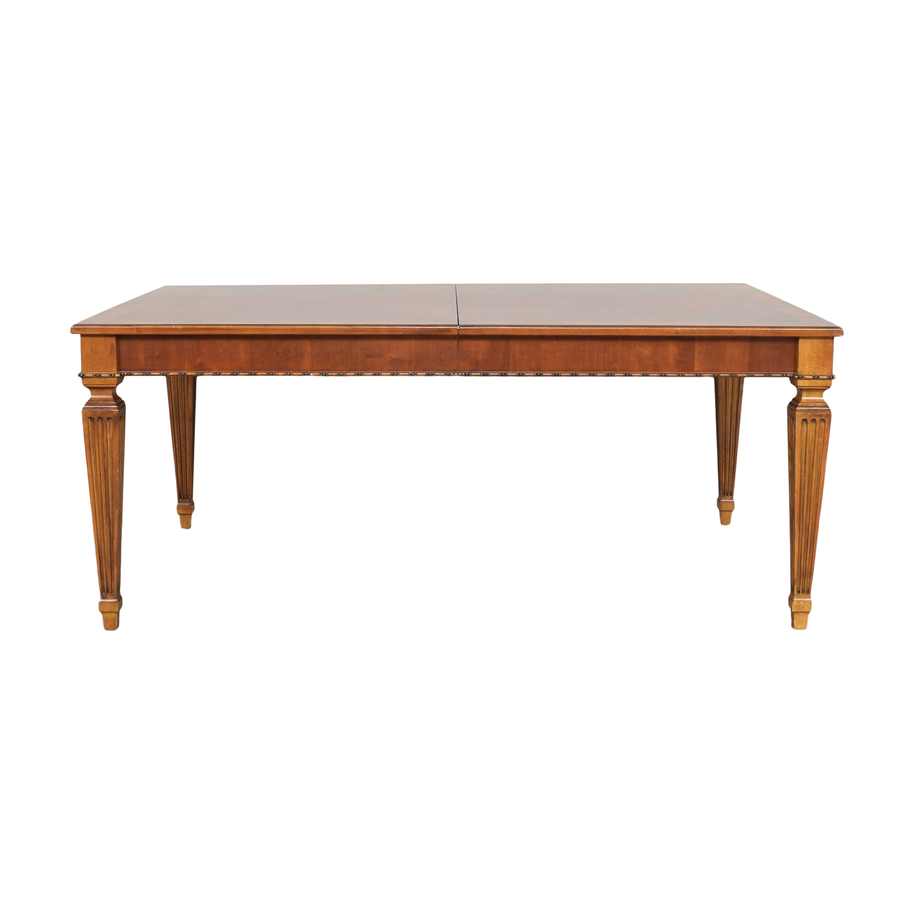 Ethan Allen Ethan Allen Goodwin Extendable Dining Table pa
