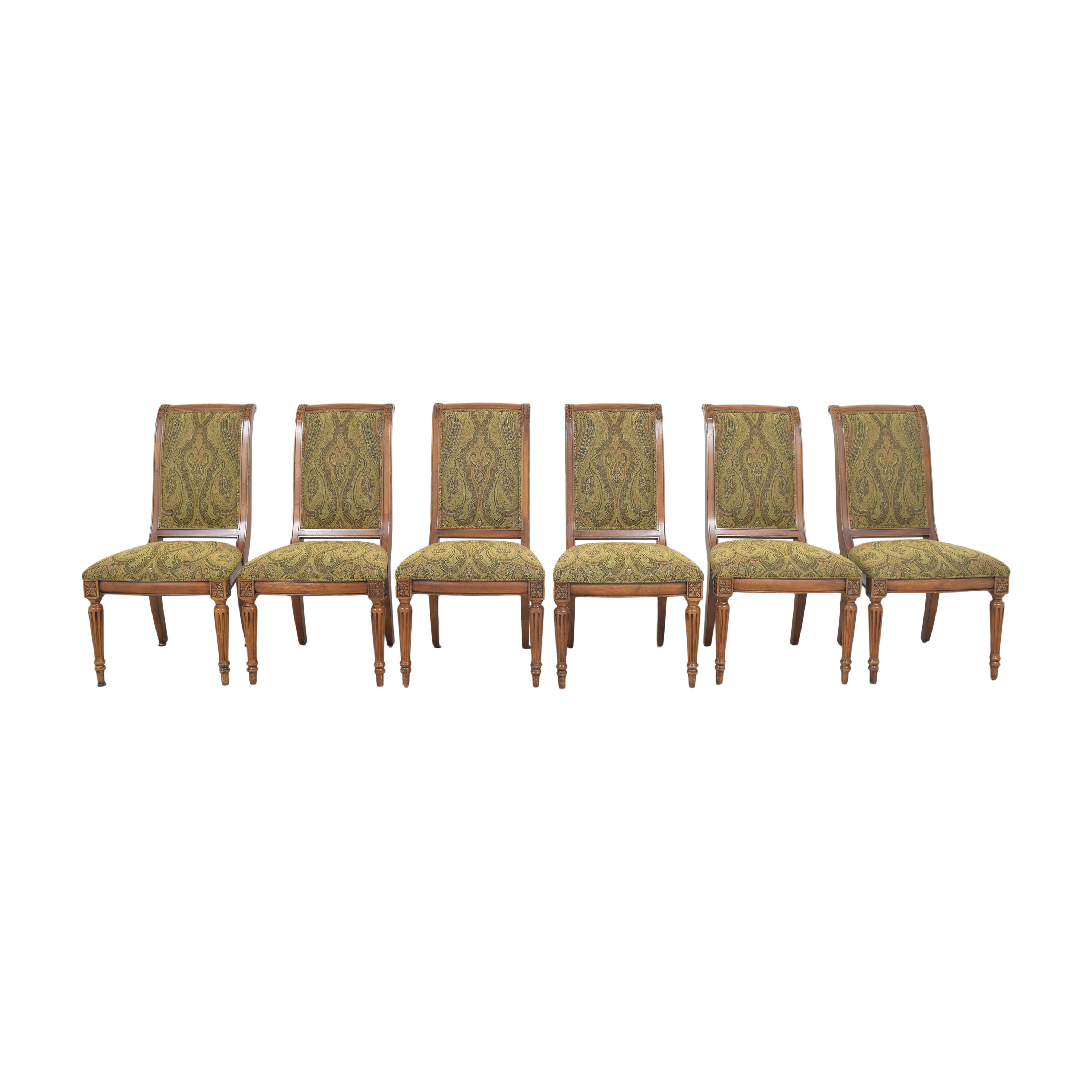 Ethan Allen Ethan Allen Adison Dining Side Chairs second hand