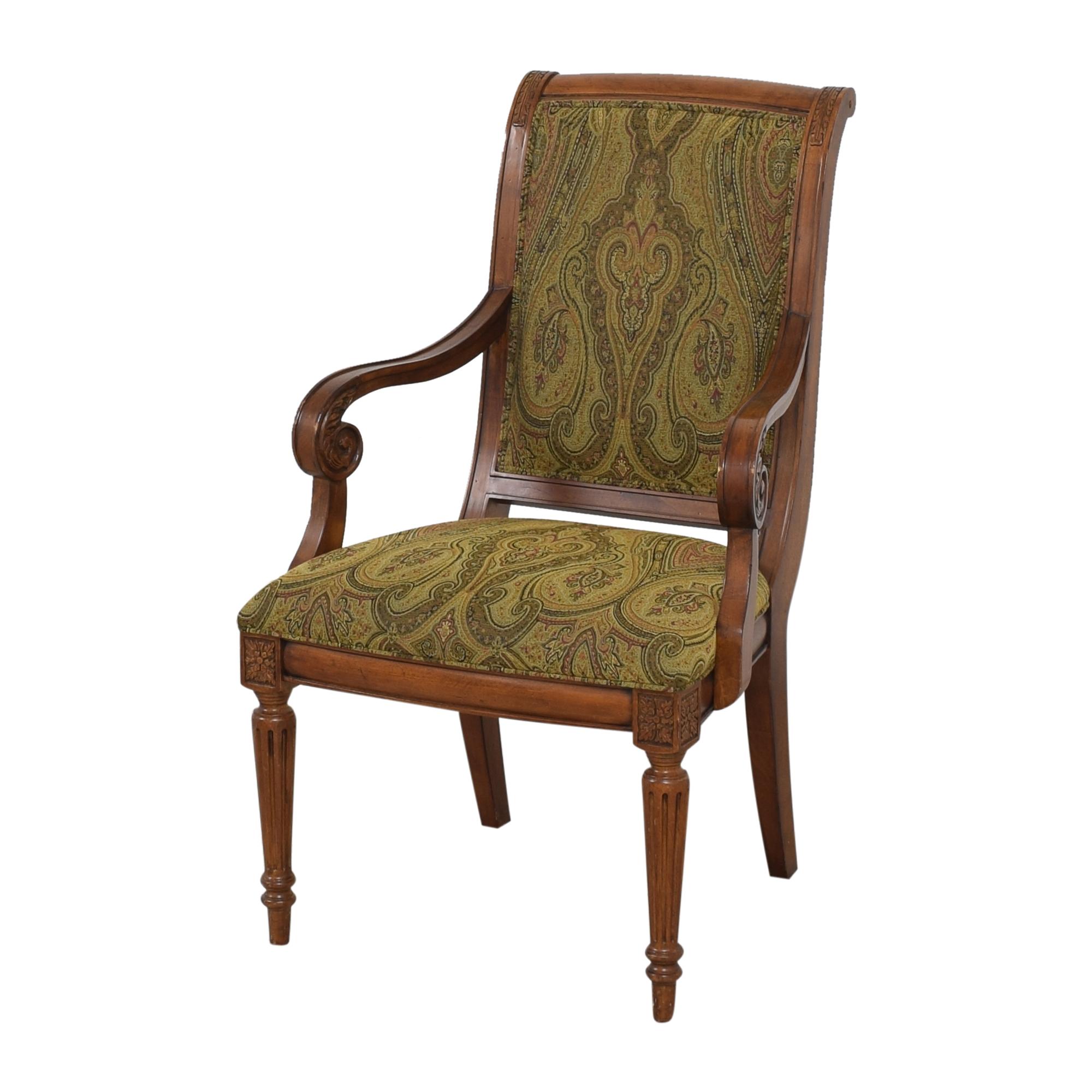 shop Ethan Allen Ethan Allen Adison Dining Arm Chairs online