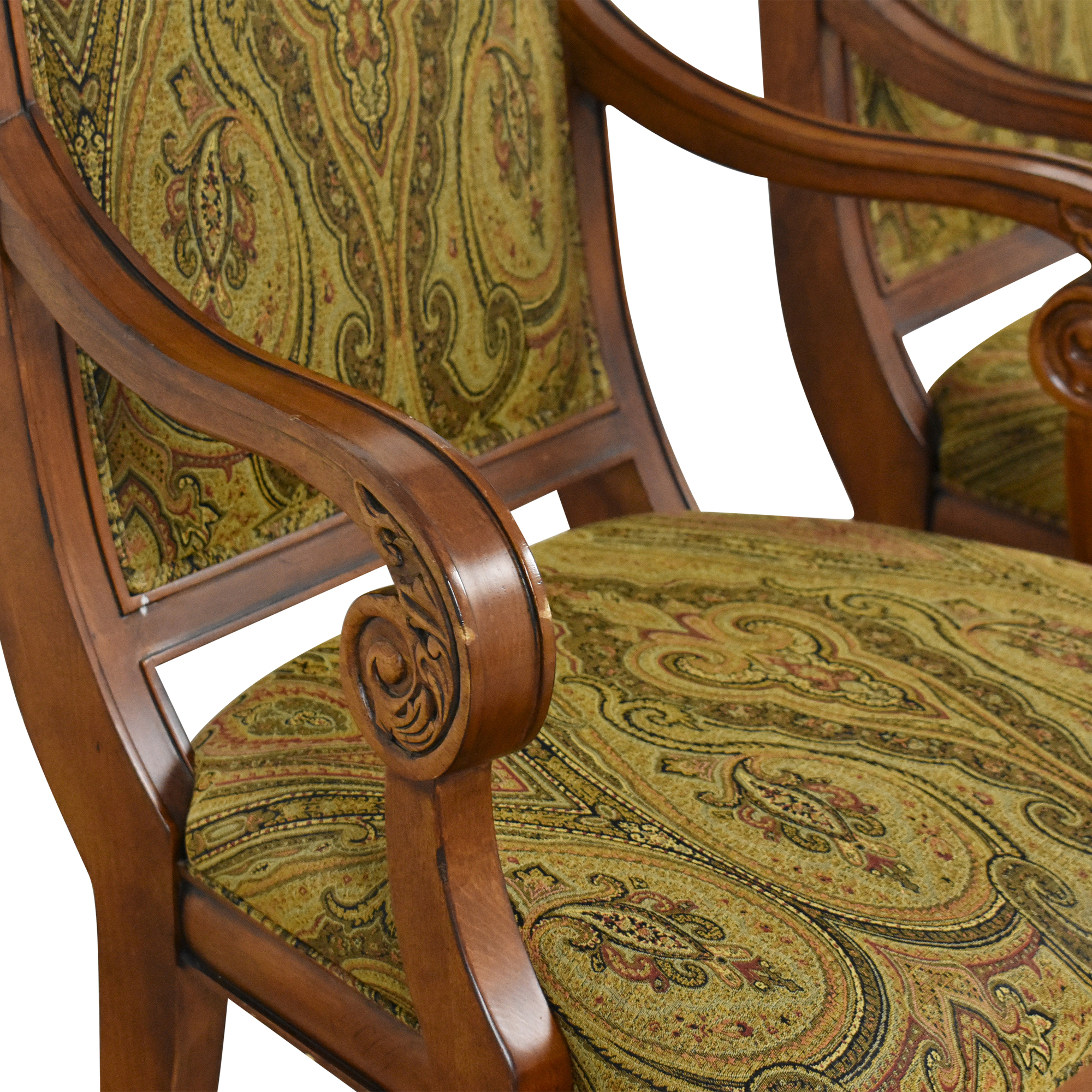 buy Ethan Allen Adison Dining Arm Chairs Ethan Allen Chairs