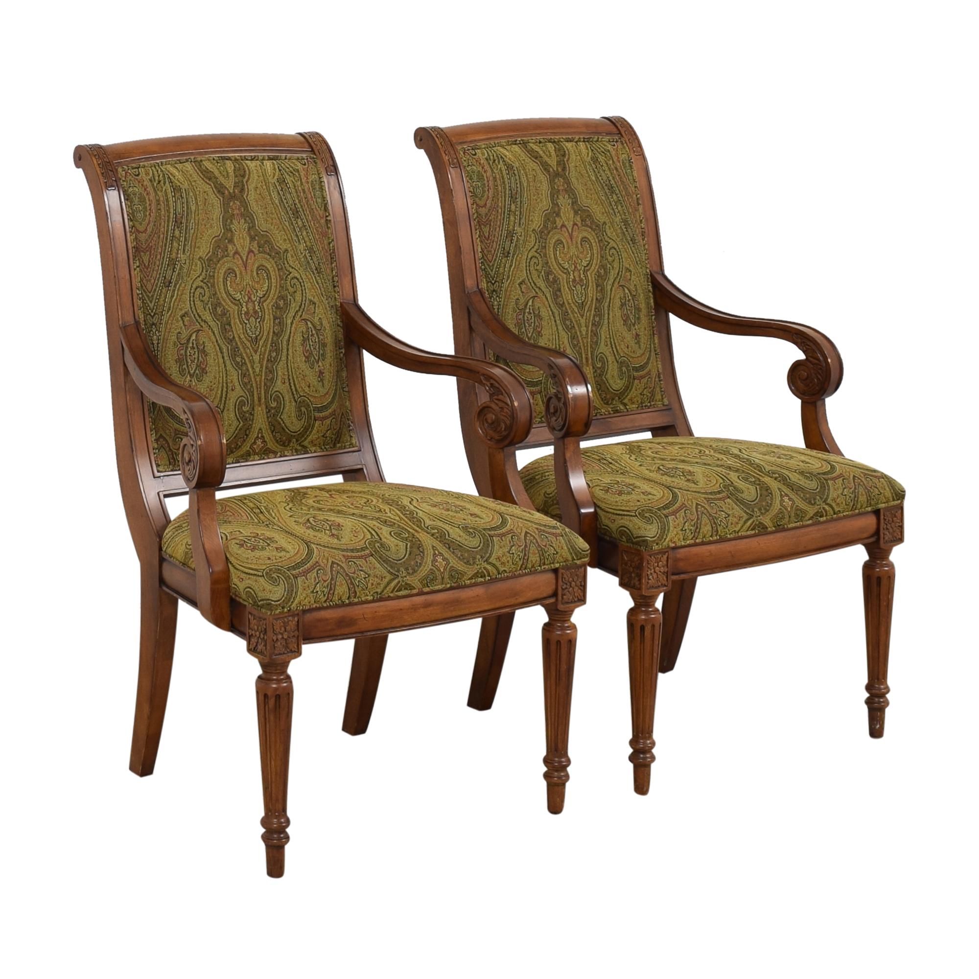 Ethan Allen Ethan Allen Adison Dining Arm Chairs discount