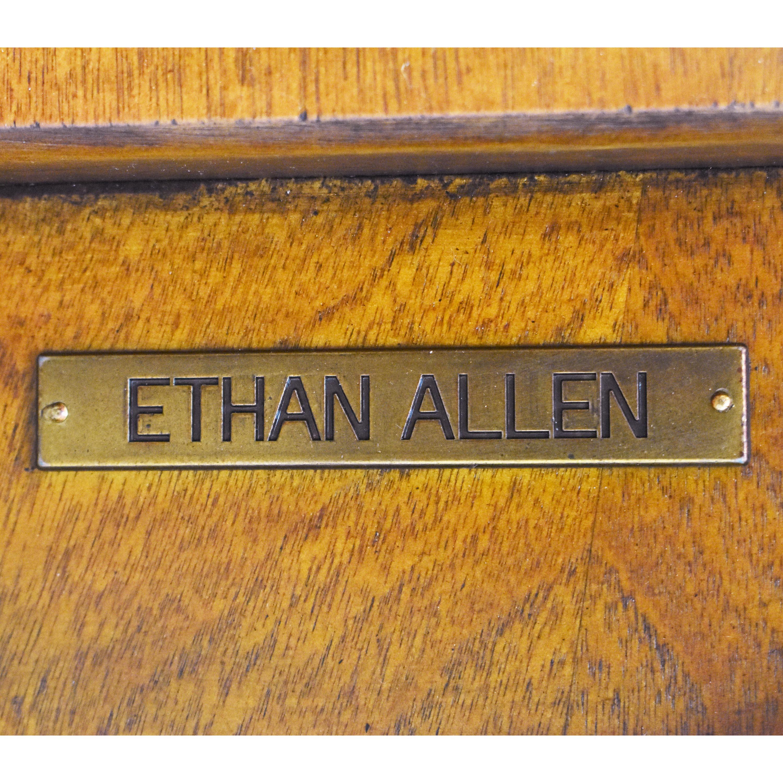 buy Ethan Allen Pedestal Accent Table Ethan Allen Tables