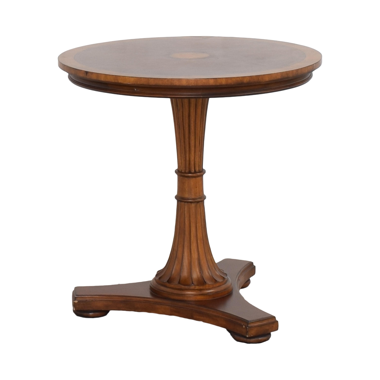 Ethan Allen Ethan Allen Pedestal Accent Table Accent Tables