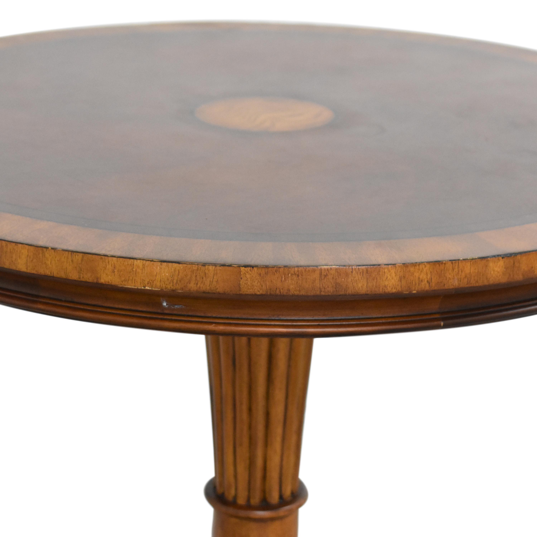 Ethan Allen Ethan Allen Pedestal Accent Table dimensions